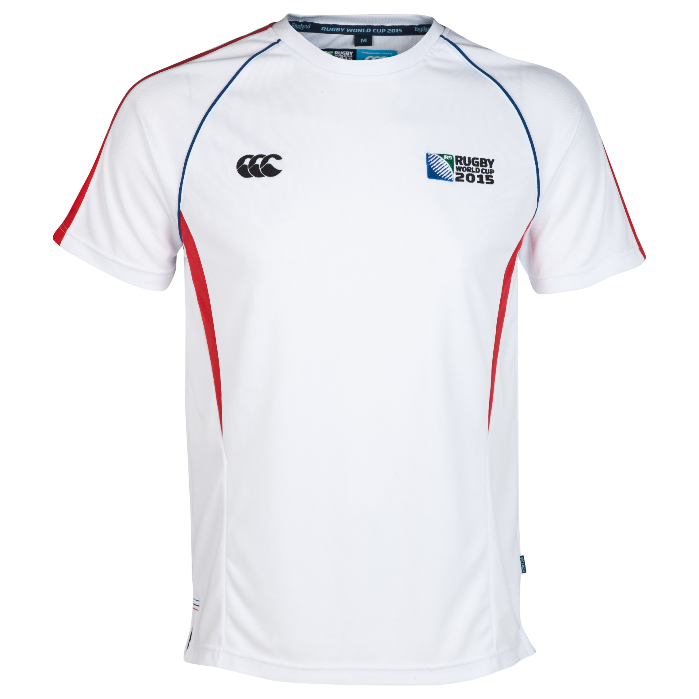 Canterbury Rugby World Cup Winger T-Shirt White