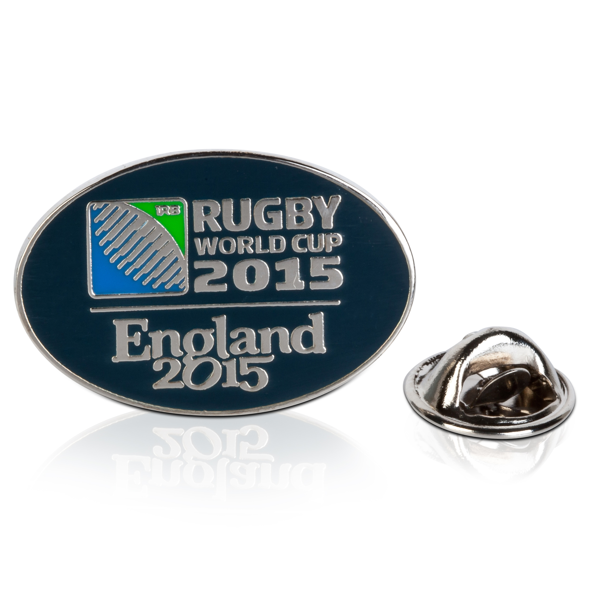 England World Cup 2015 Oval Logo Pin