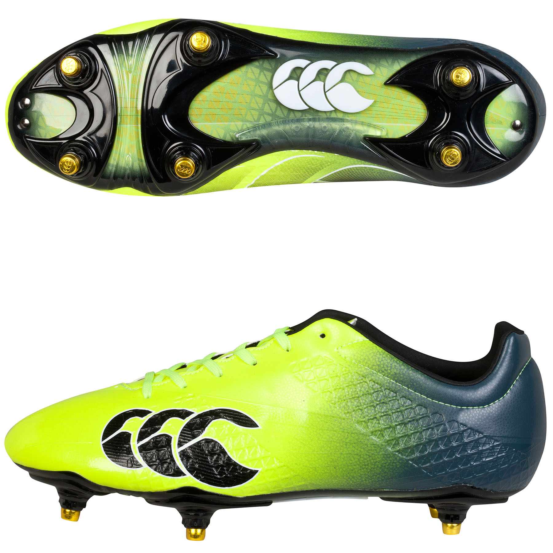 Canterbury Speed Elite Soft Ground Boot Yellow