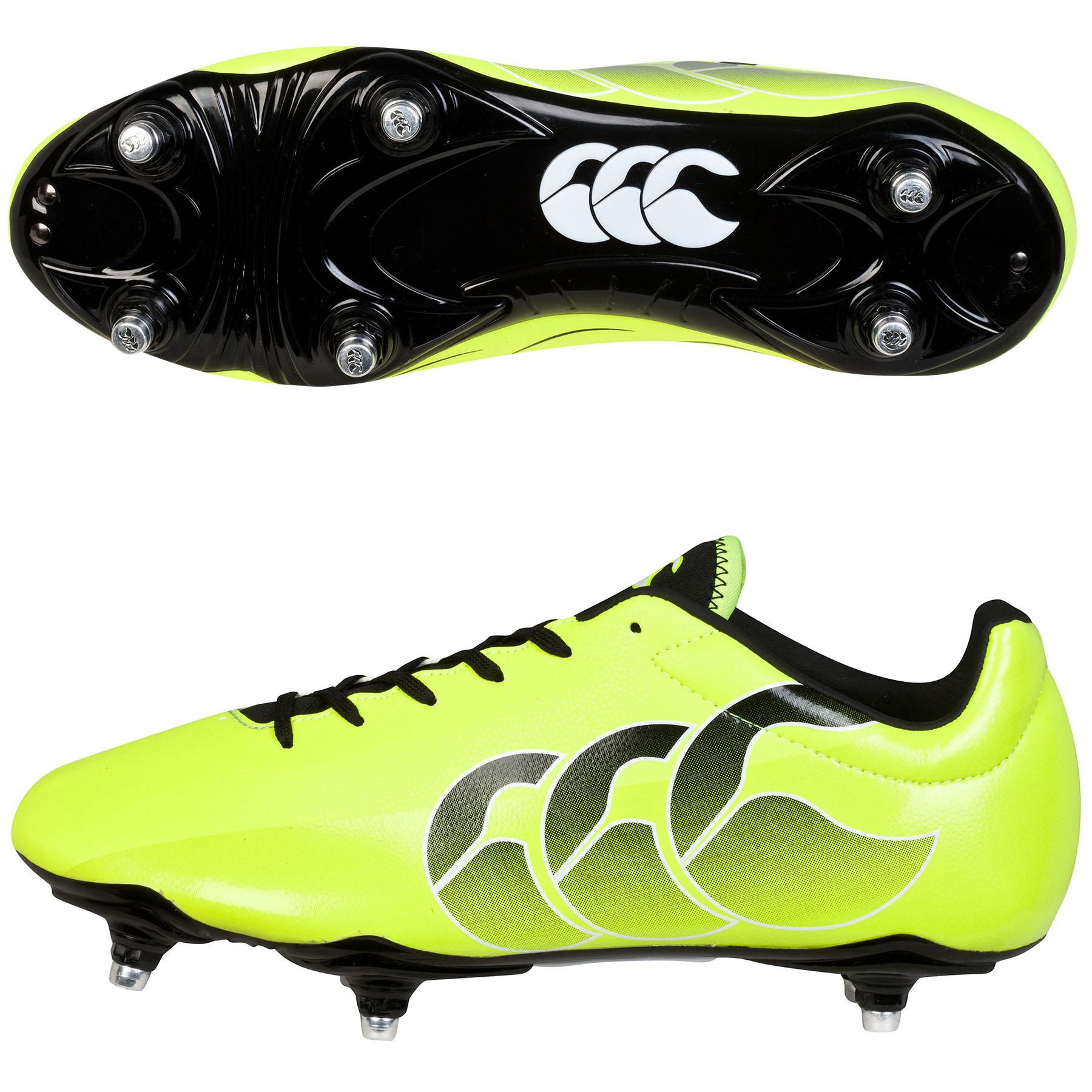 Canterbury Speed Club Soft Ground Boot Yellow