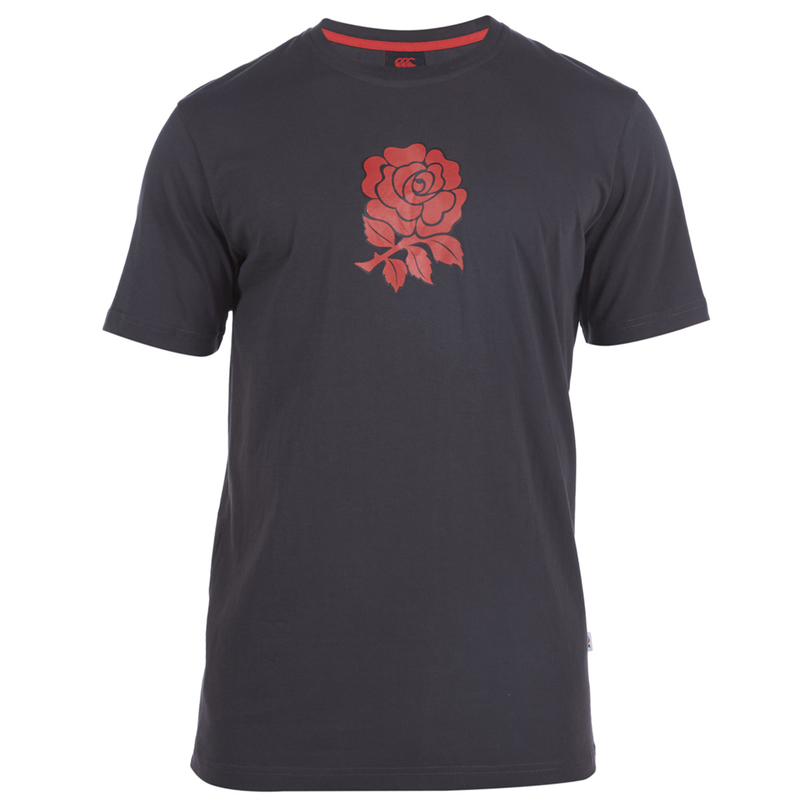 England Cotton Graphic T-Shirt Grey