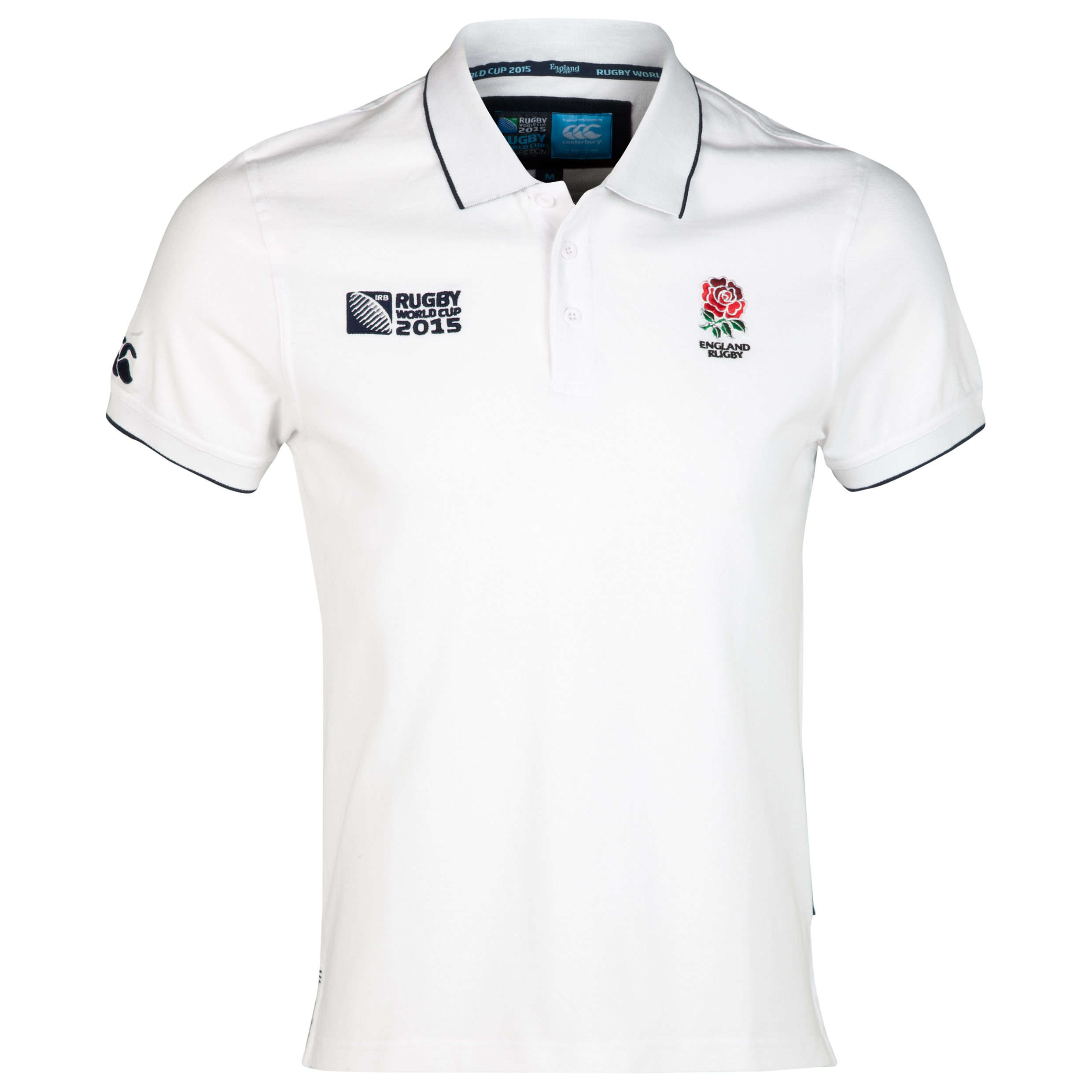 Canterbury Rugby World Cup England Supporters Polo White
