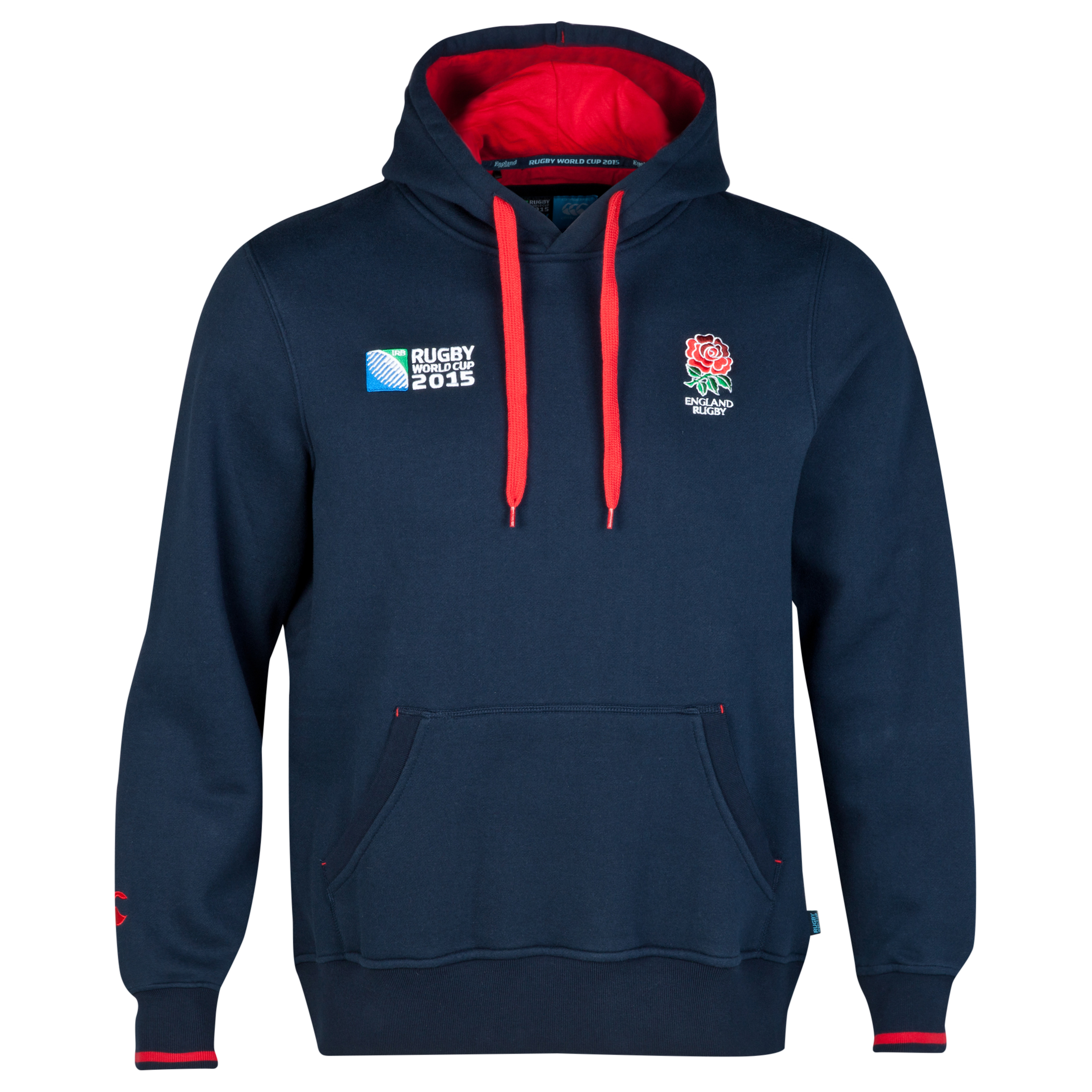 Canterbury Rugby World Cup England Rose Hoody Navy