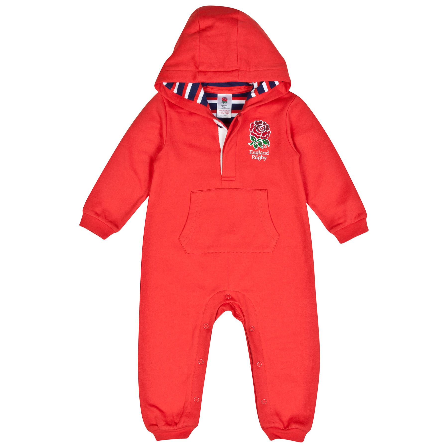 England All In One Fleece Suit