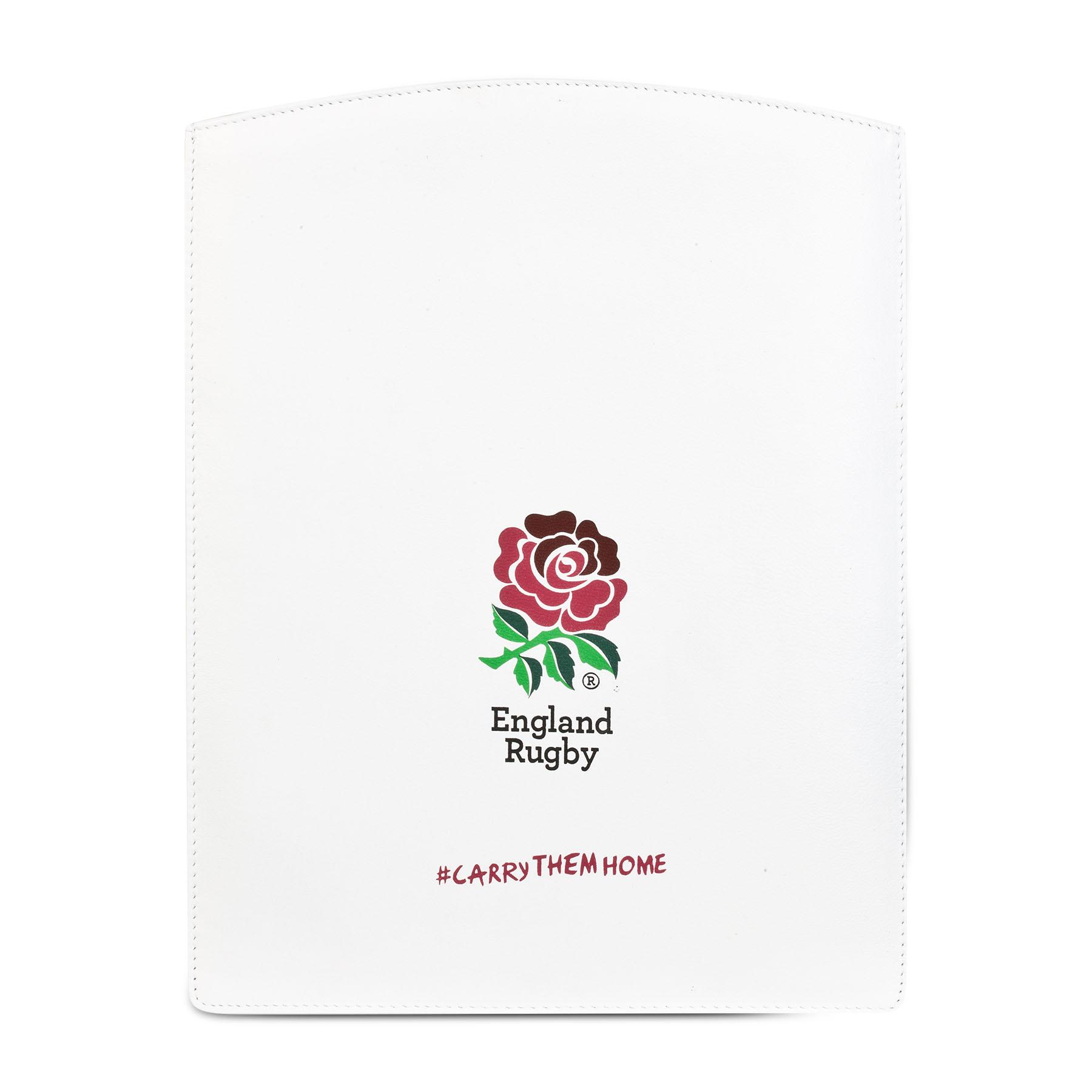 England Printed Leather iPad Case