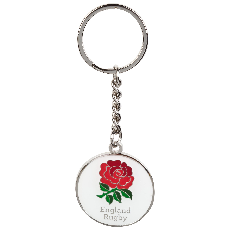 England Rose Keyring