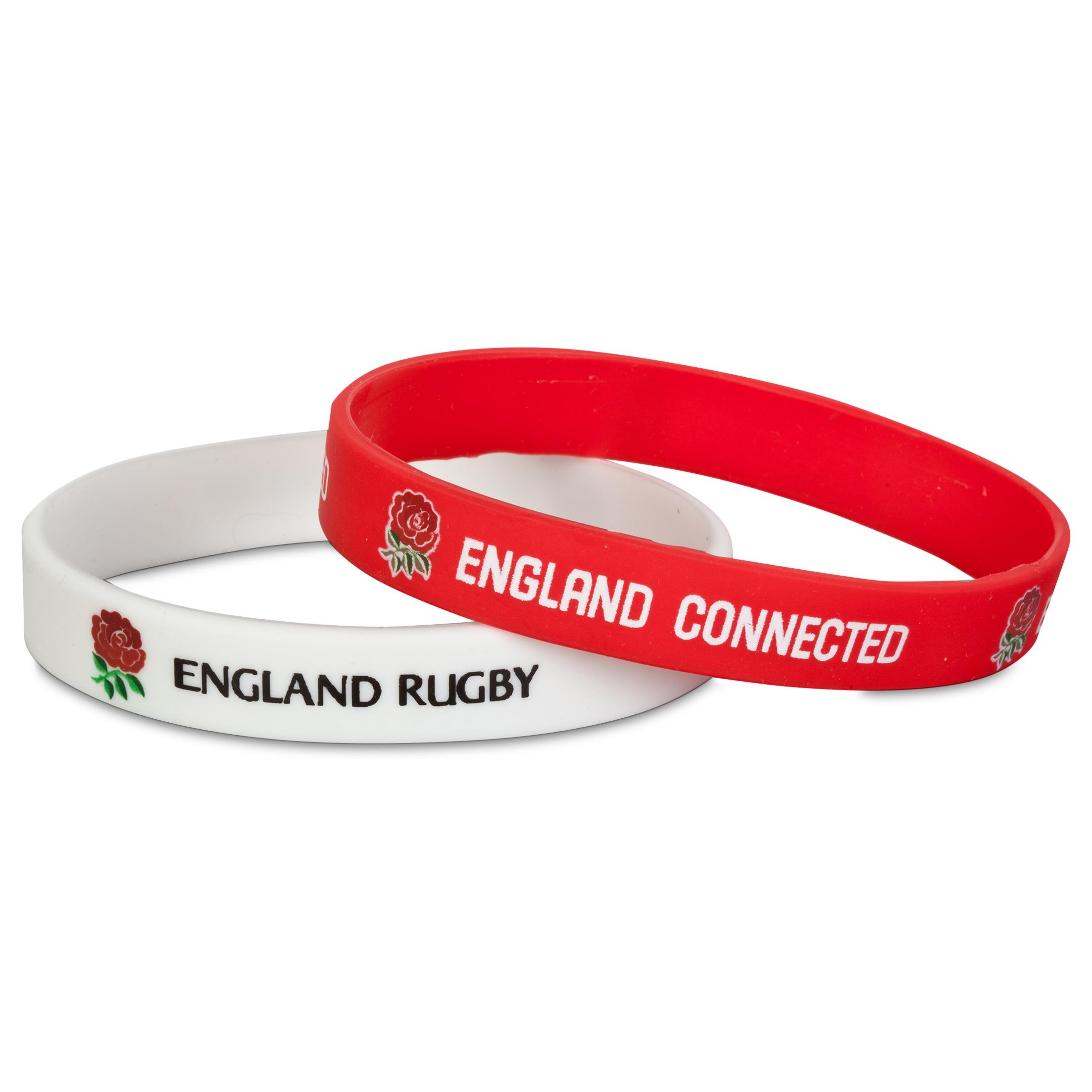 England Wristband 2 Pk