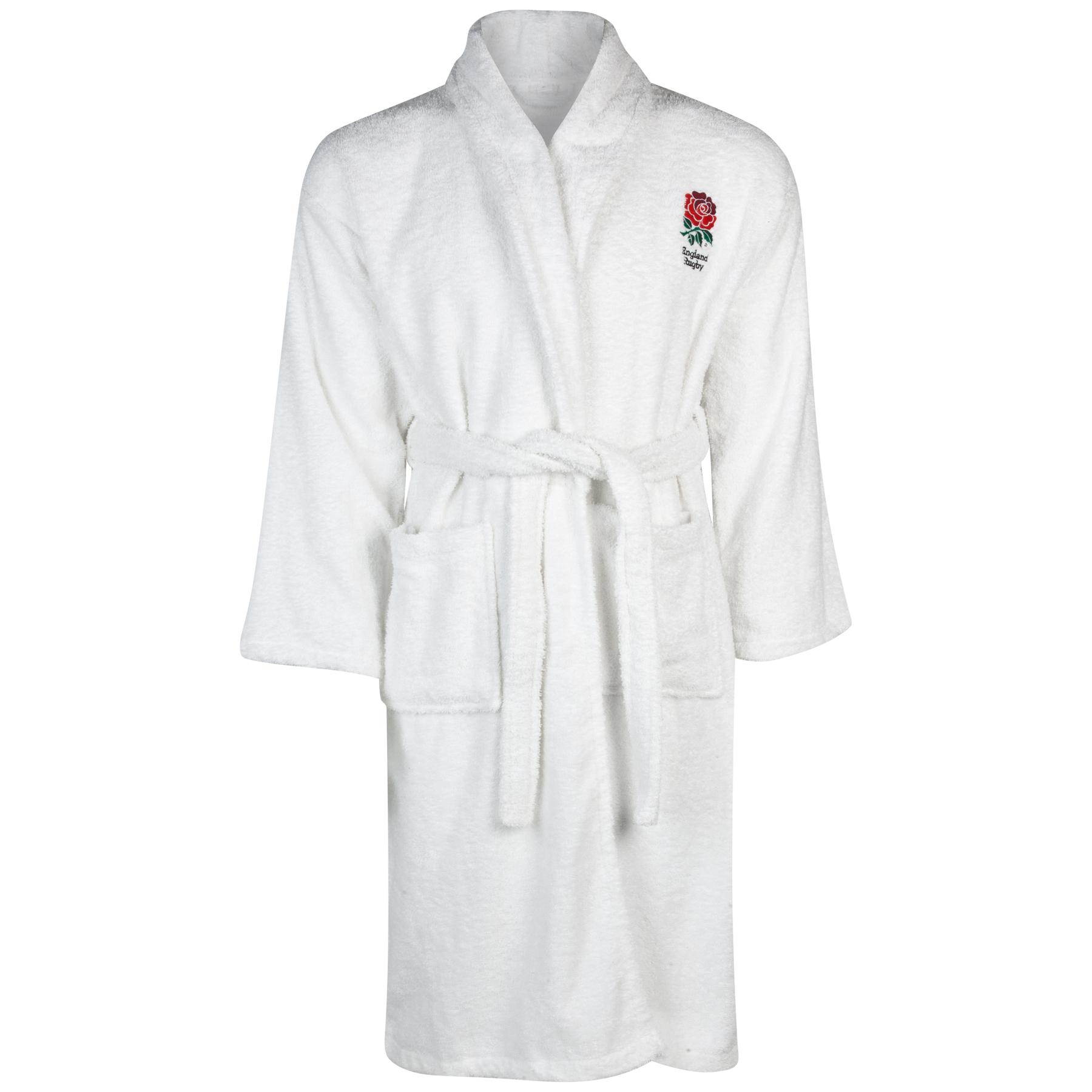 "Image of ""England Bath Robe - Boys- White"""