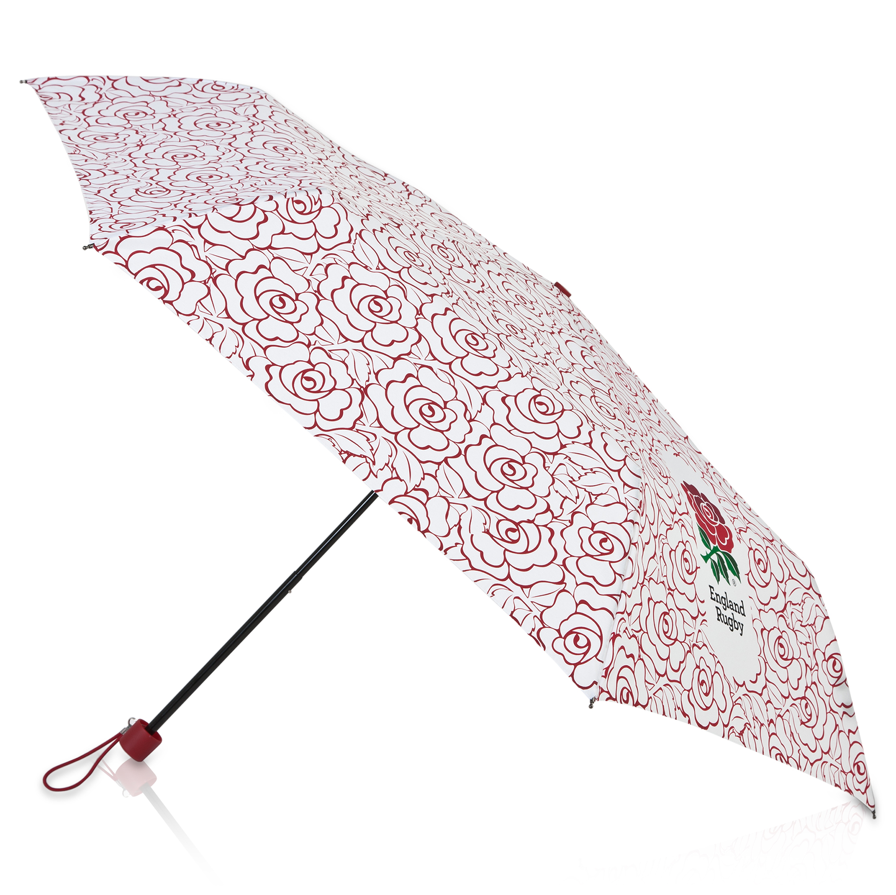 Image of England Rose Telescopic Umbrella, N/A