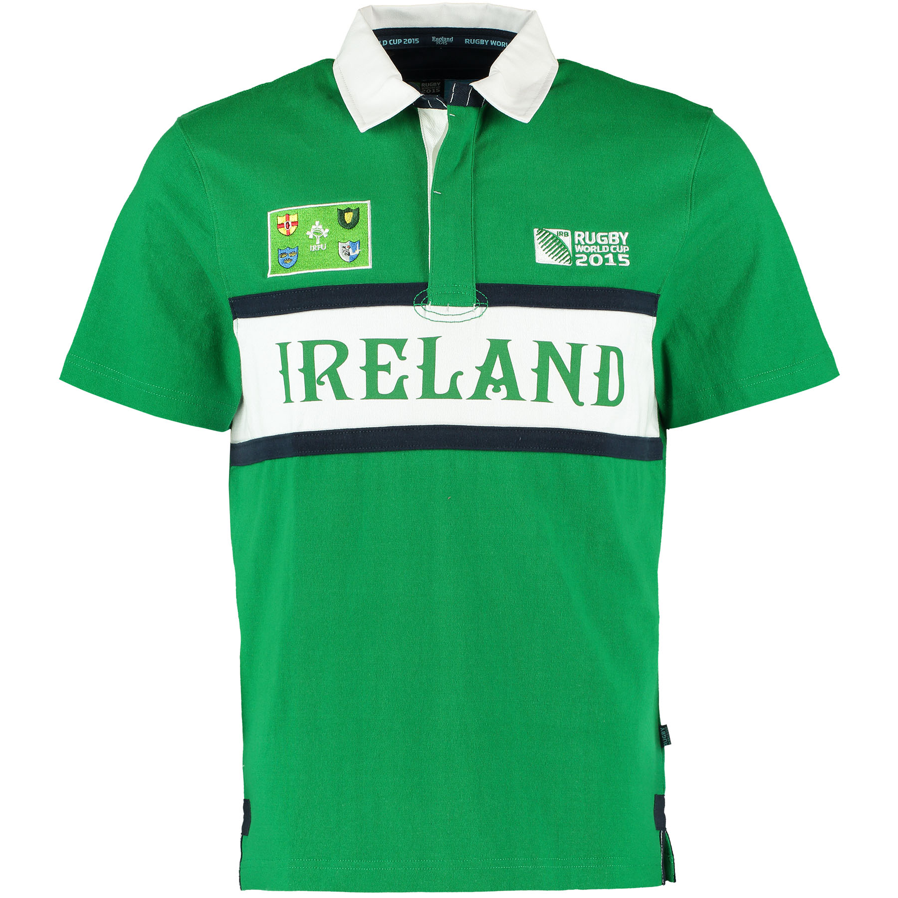 Rugby World Cup 2015 Ireland Rugby Shirt – Short Sleeved Green