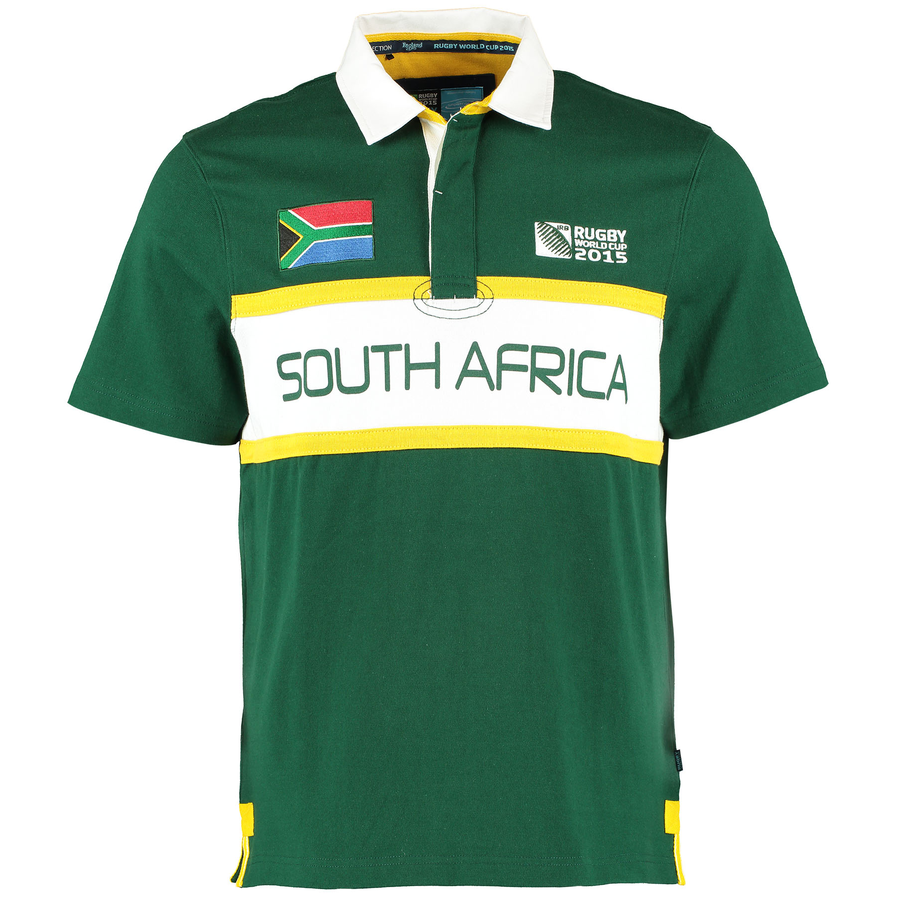 Rugby World Cup 2015 South Africa Rugby Shirt – Short Sleeved Green