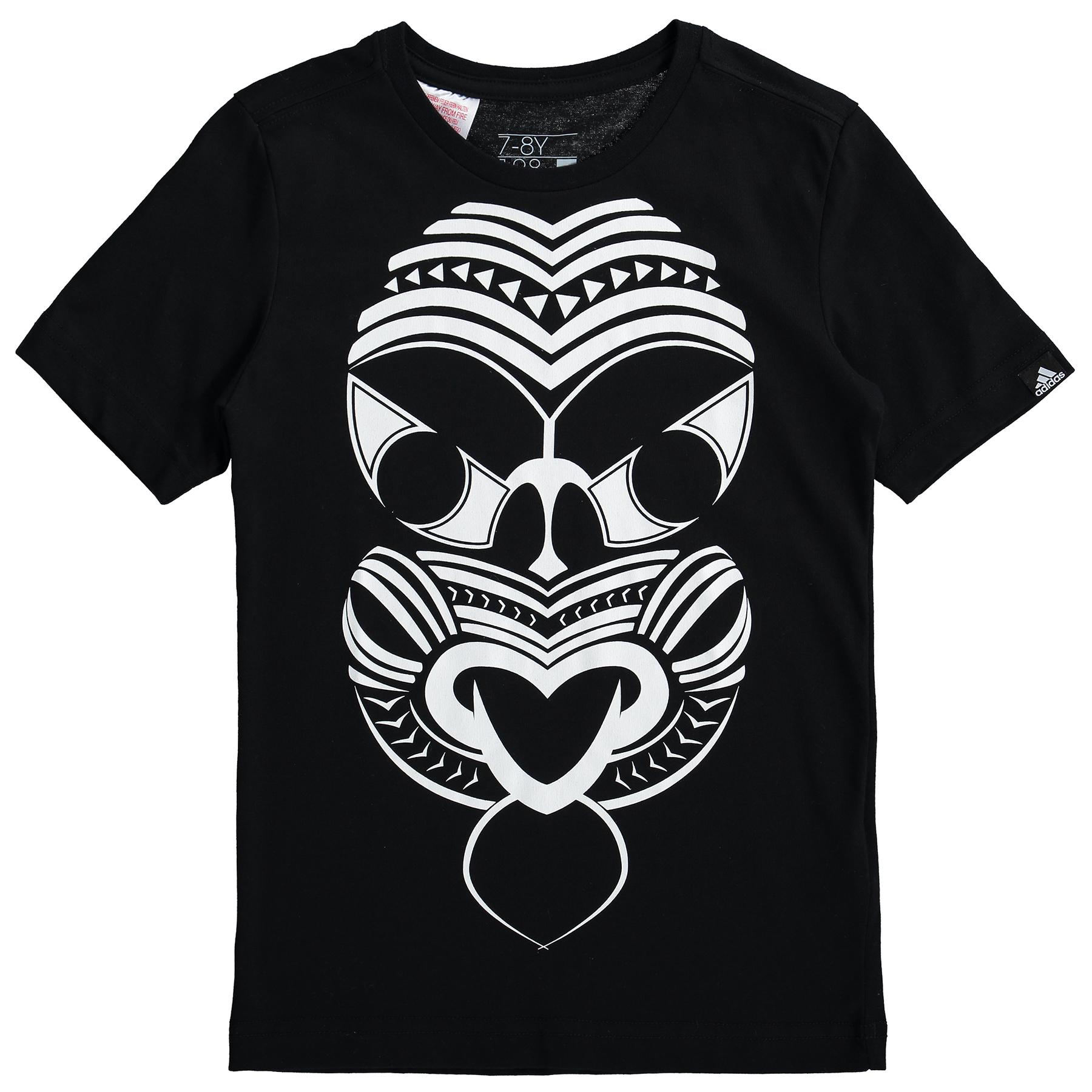 All Blacks Rugby Mask T-Shirt - Kids Black