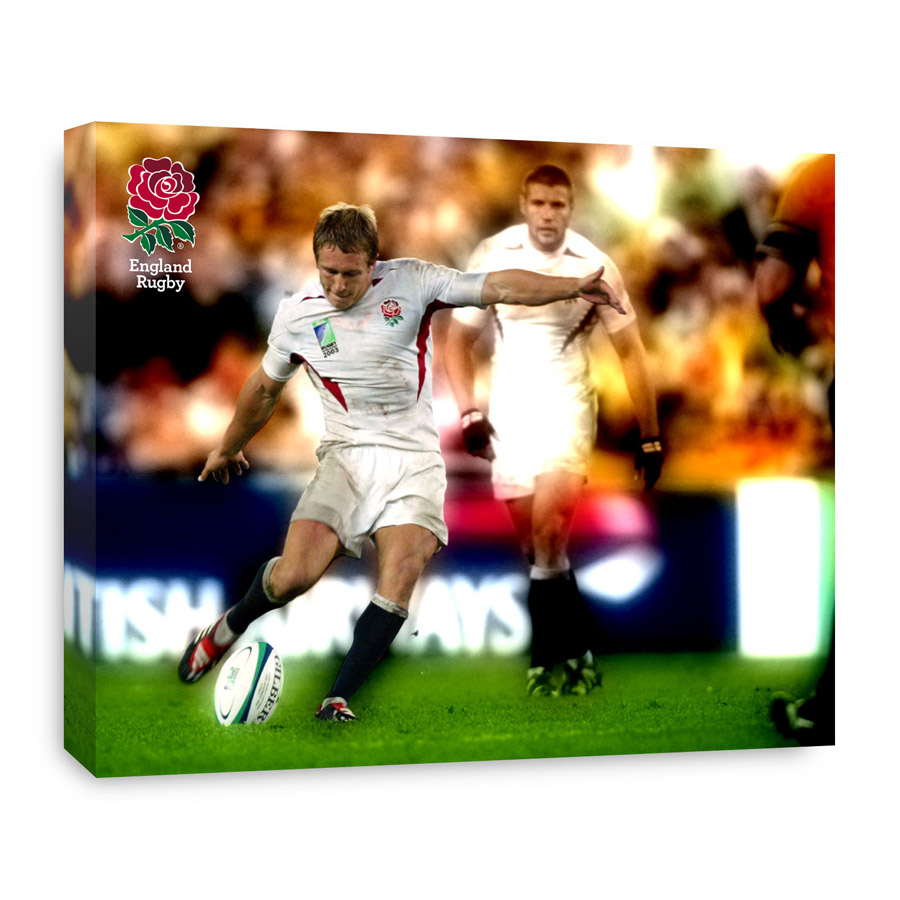 England Jonny Wilkinson Winning Kick World Cup 2003 Canvas - 508 x 406