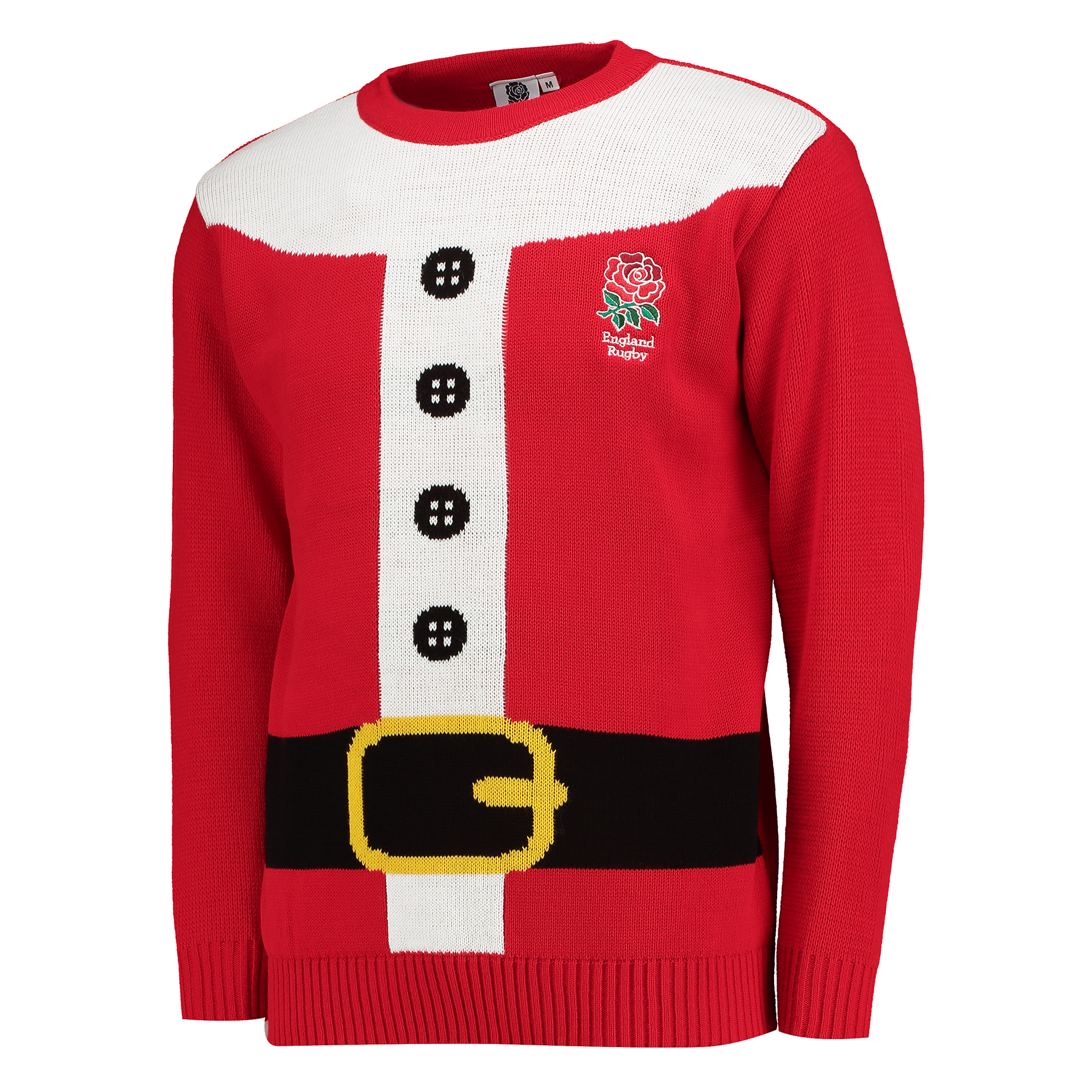 England Santa Suit Christmas Jumper  Adult
