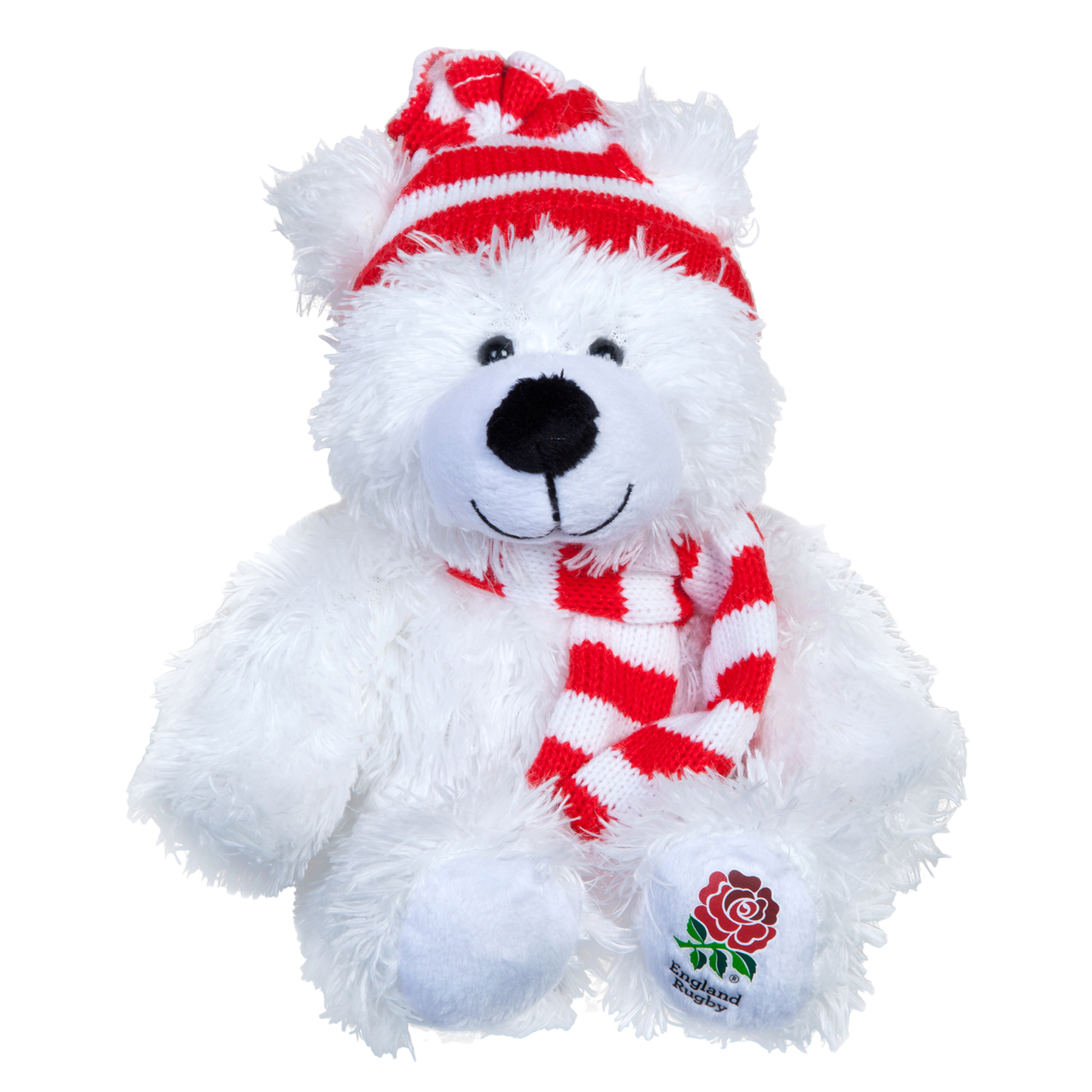 Image of England Polar Bear Soft Toy, N/A