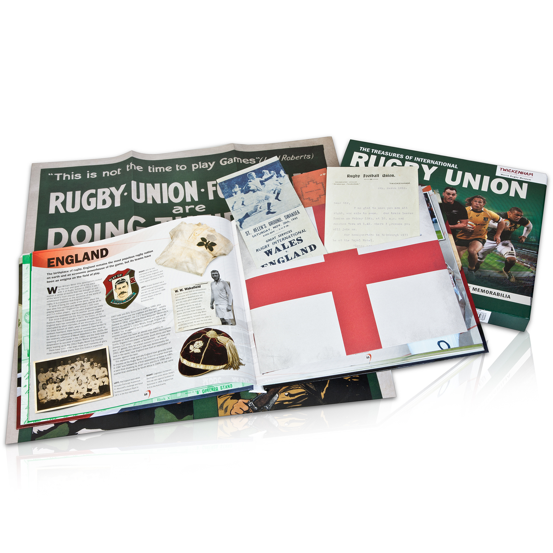 England The Treasures of International Rugby Union Book