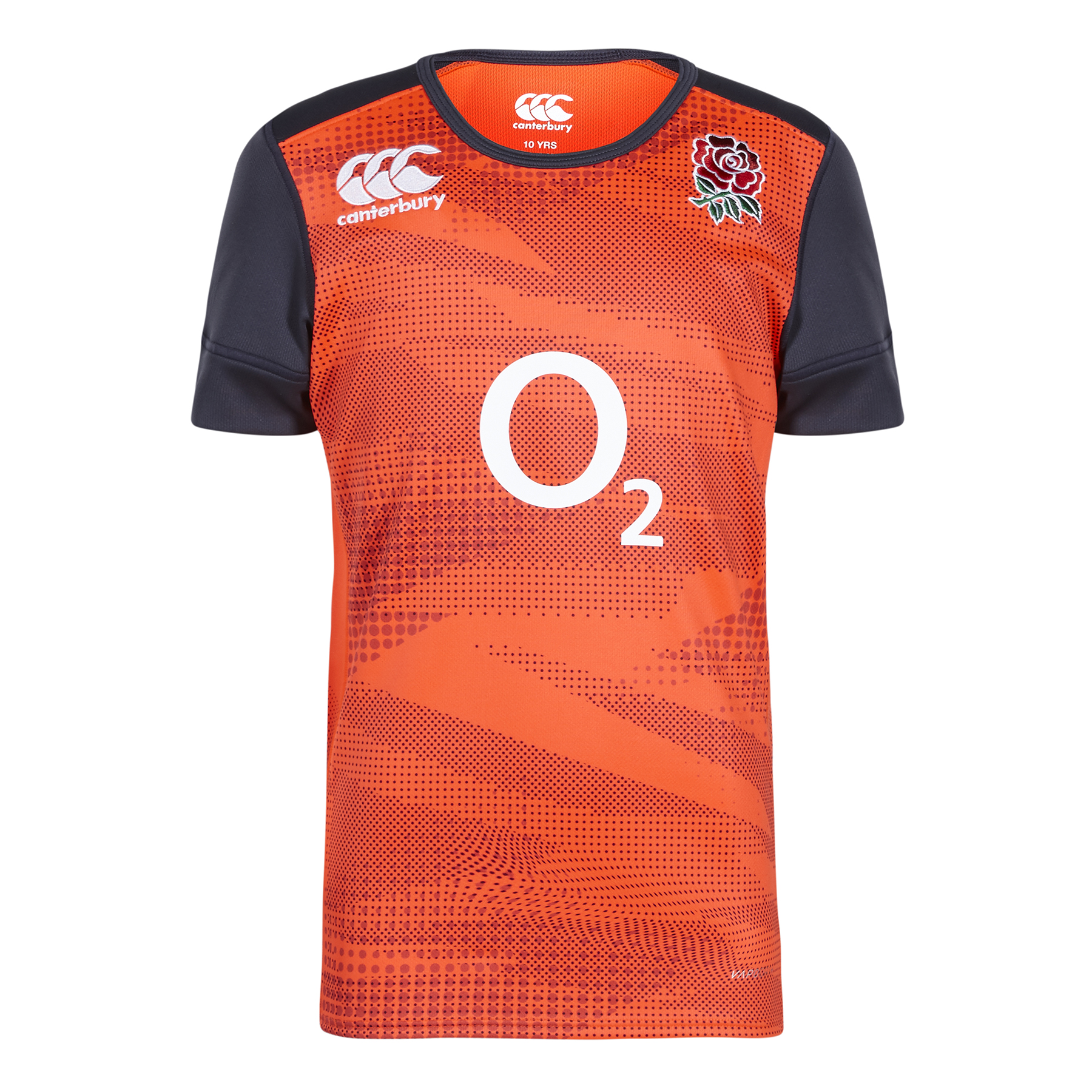 England Rugby Training Pro Shirt - Red Spark