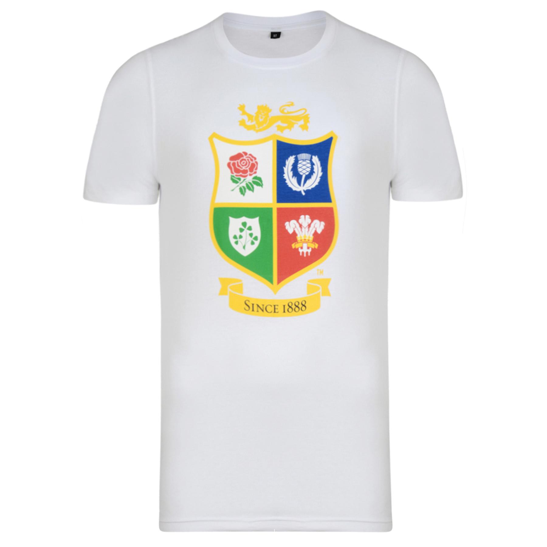 """Image of """"British & Irish Lions NZ 2017 T-Shirt - White"""""""