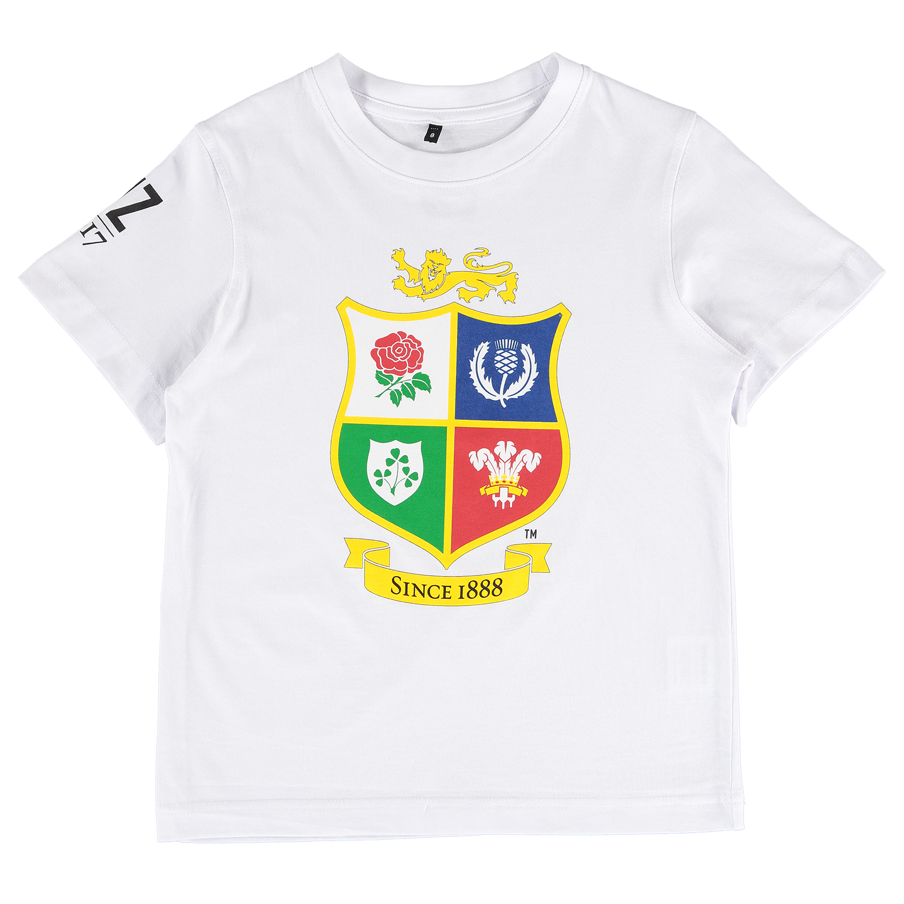 """Image of """"British & Irish Lions NZ 2017 T-Shirt - White - Junior"""""""