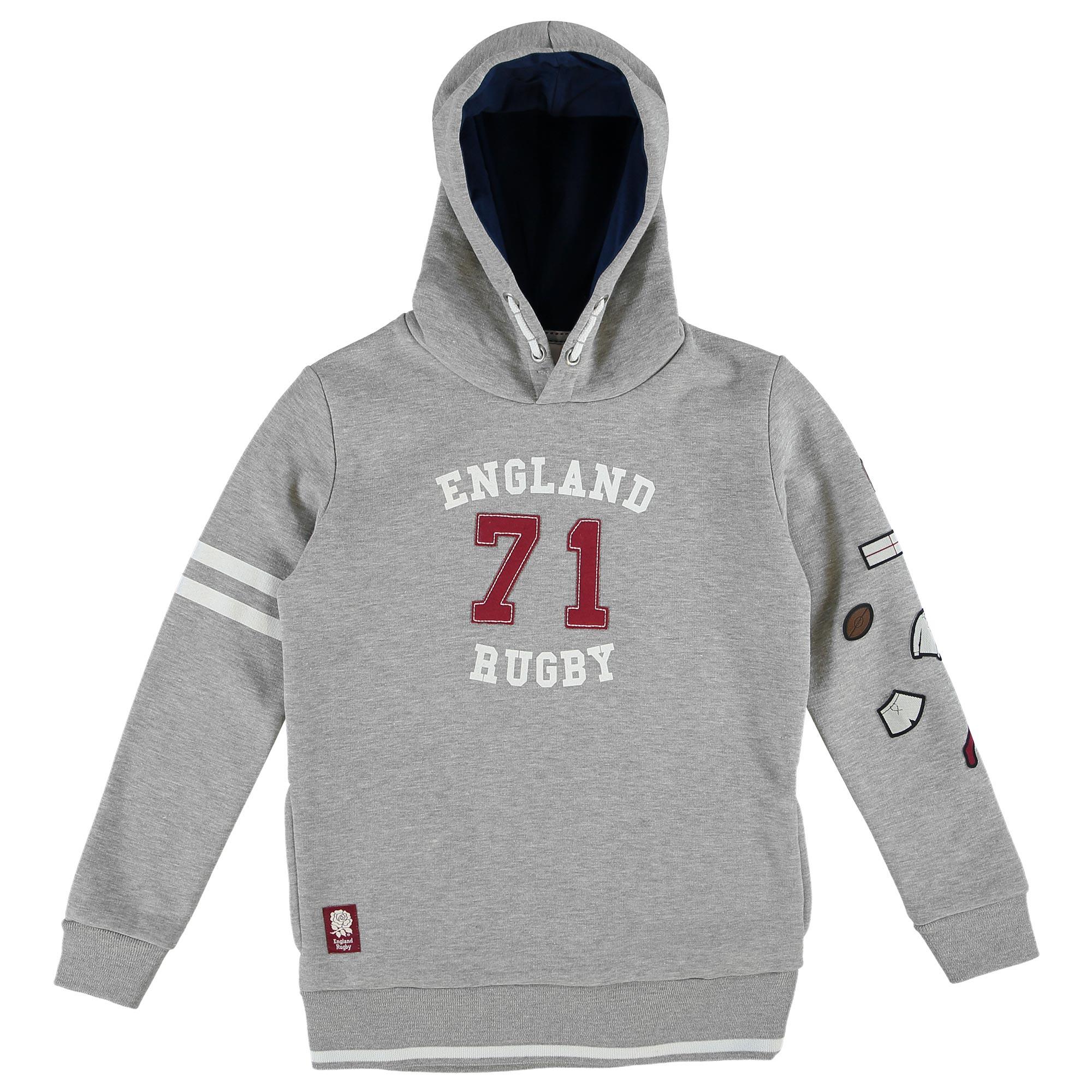 """Image of """"England 71 Hoodie - Grey - Junior"""""""