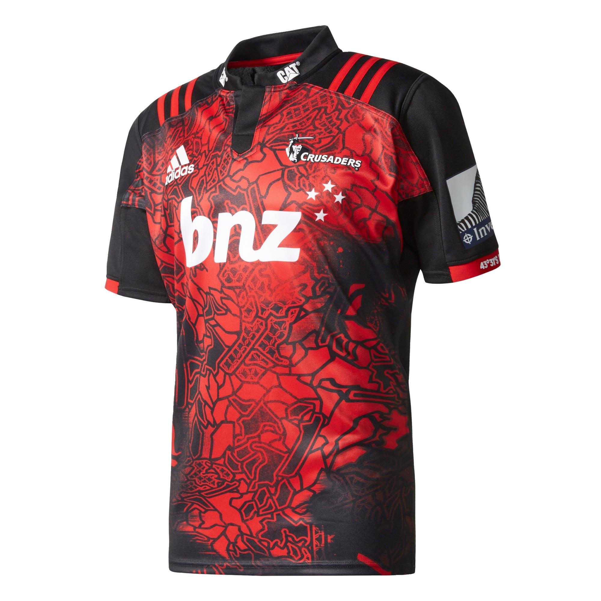 "Image of ""Crusaders Rugby Territory Shirt"""