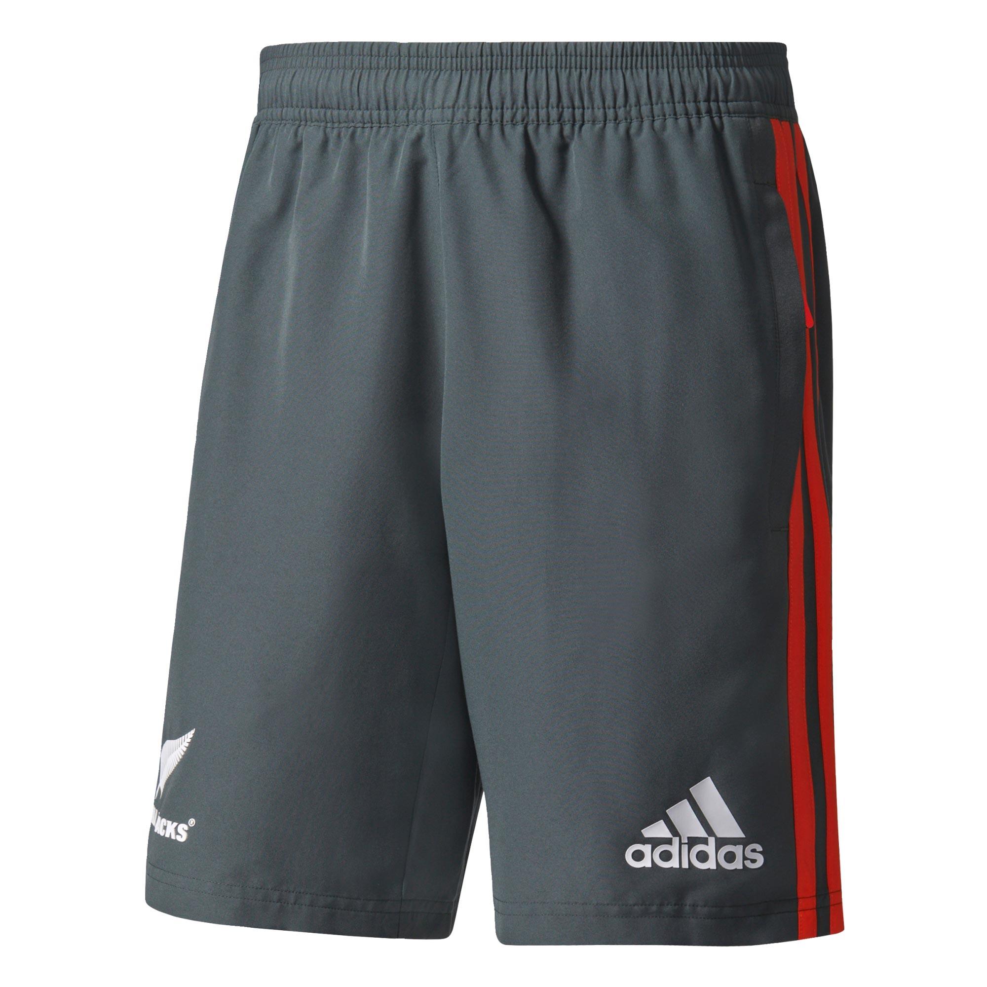"Image of ""All Blacks Woven Shorts - Dark Grey Heather/Energy/White"""