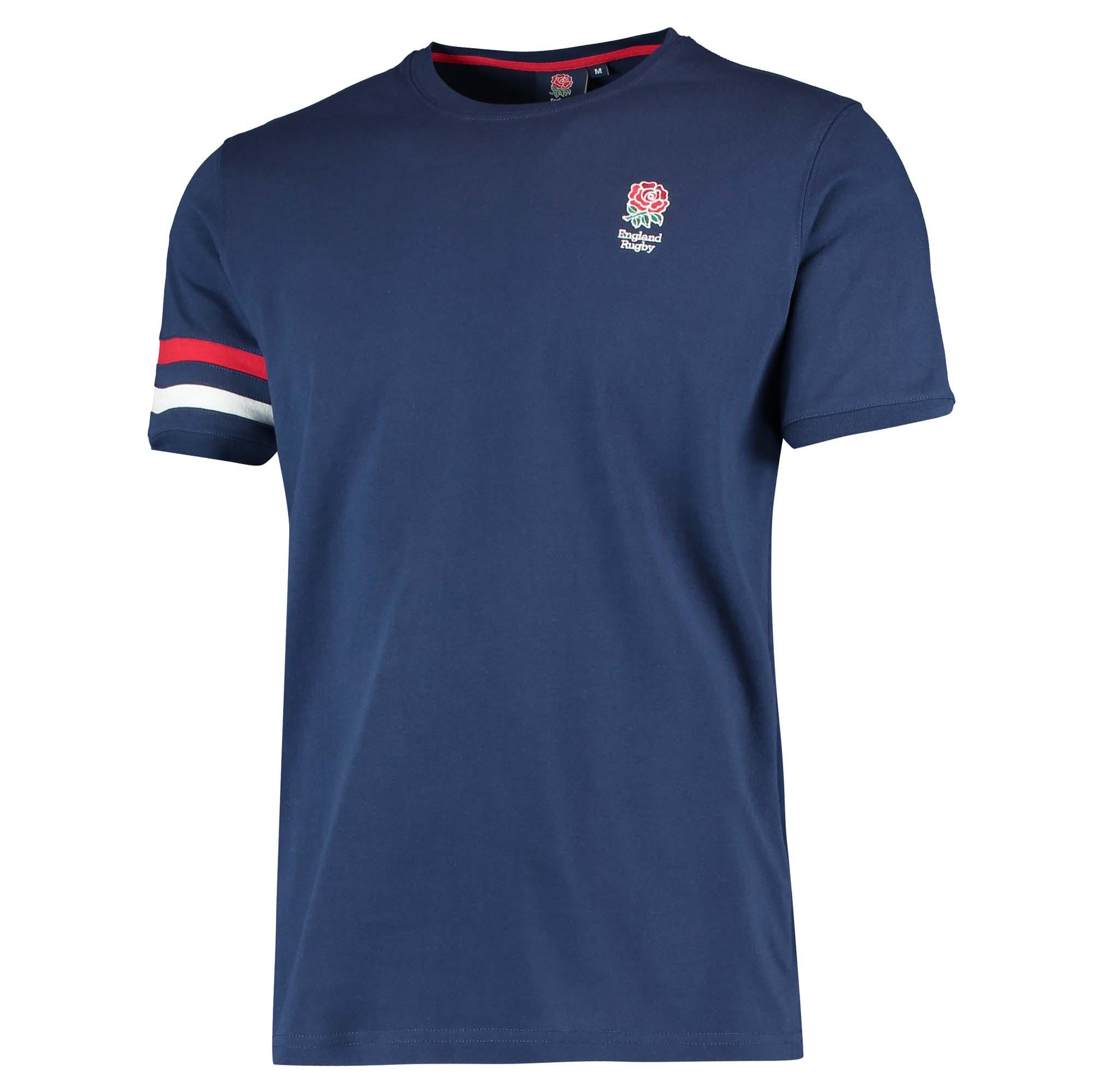 "Image of ""England Classic Armband T-Shirt - Navy - Mens"""