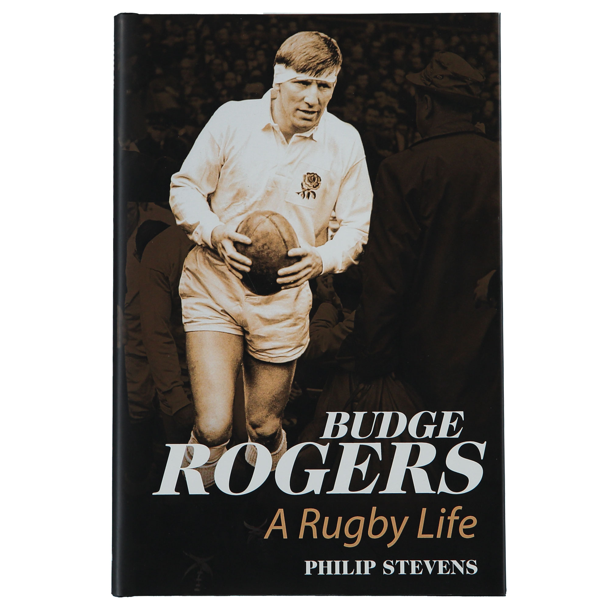 """Image of """"England Budge Rogers: A Rugby Life Hardcover"""""""