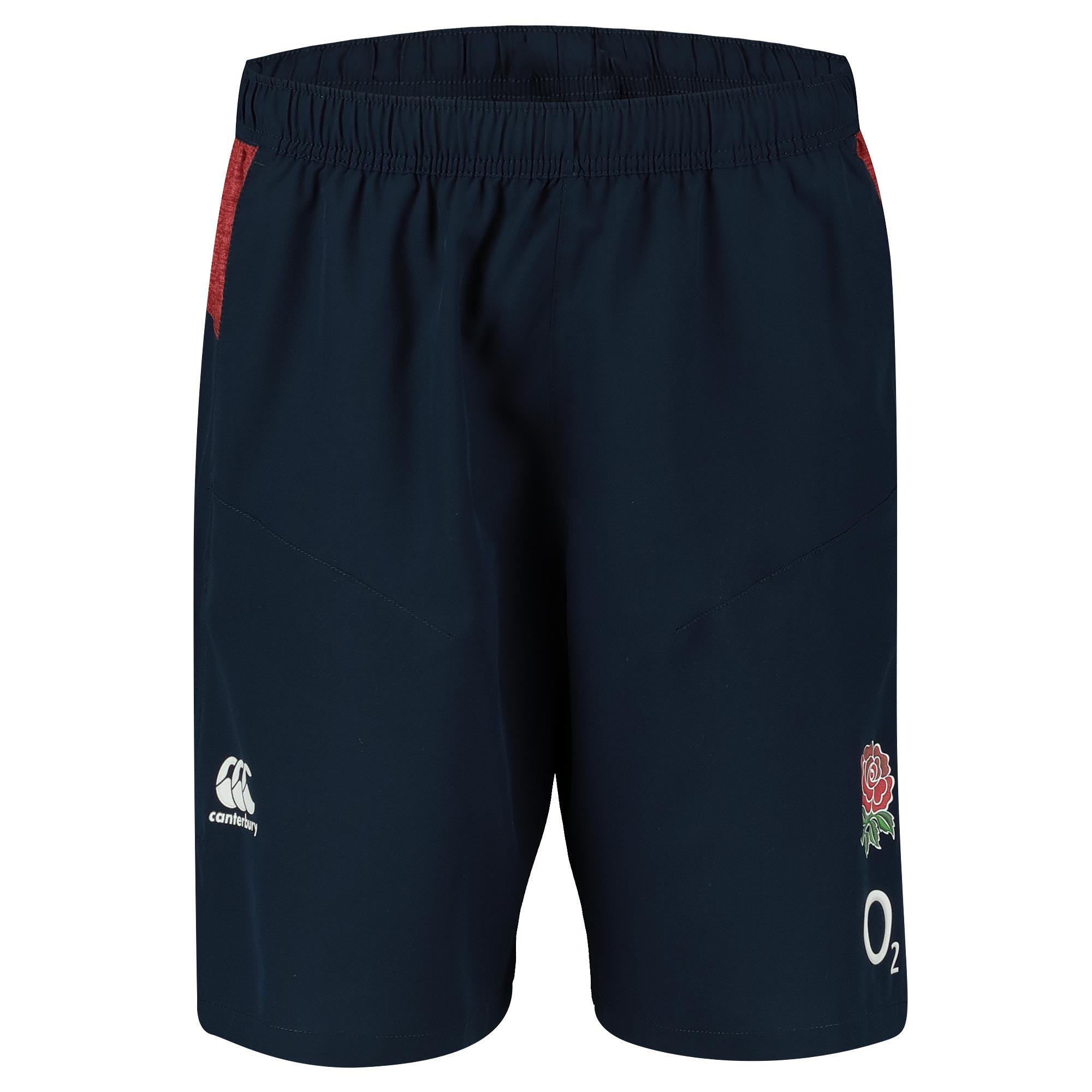 England Vapodri Woven Gym Shorts - Navy