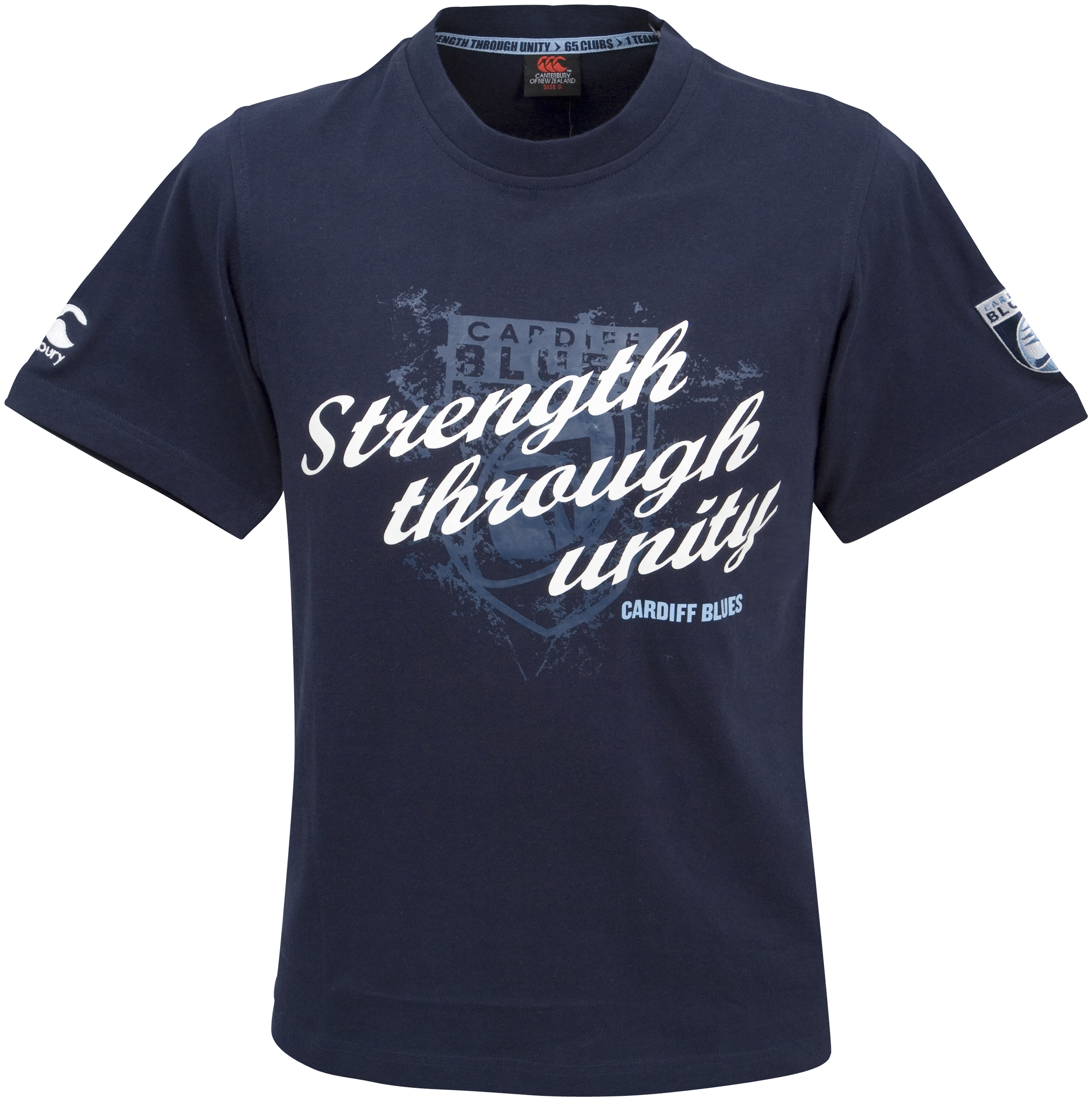 Cardiff Blues Graphic T-Shirt - Navy
