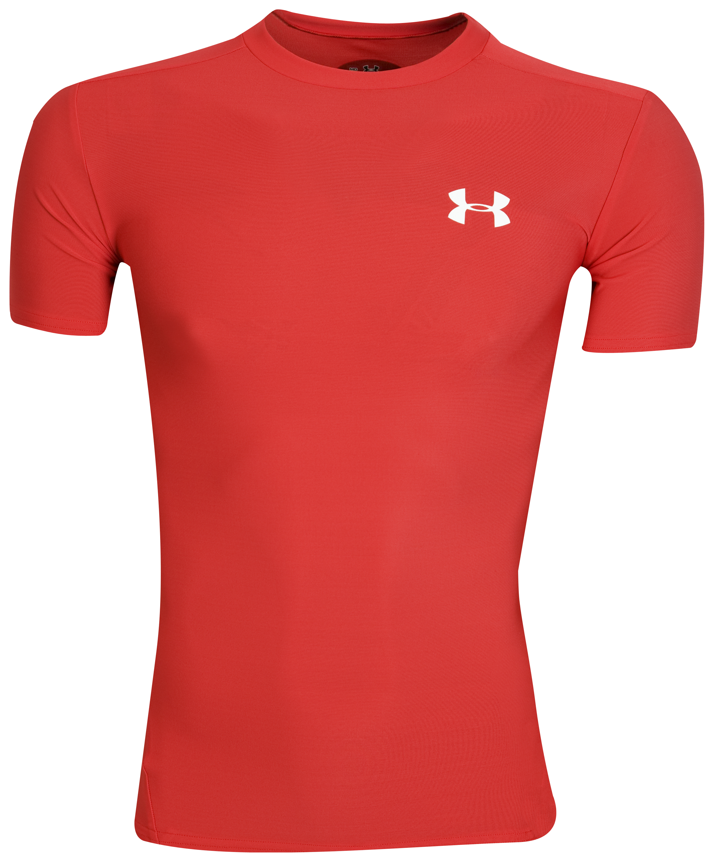 UnderArmour HeatGear Compression Top - Red/White