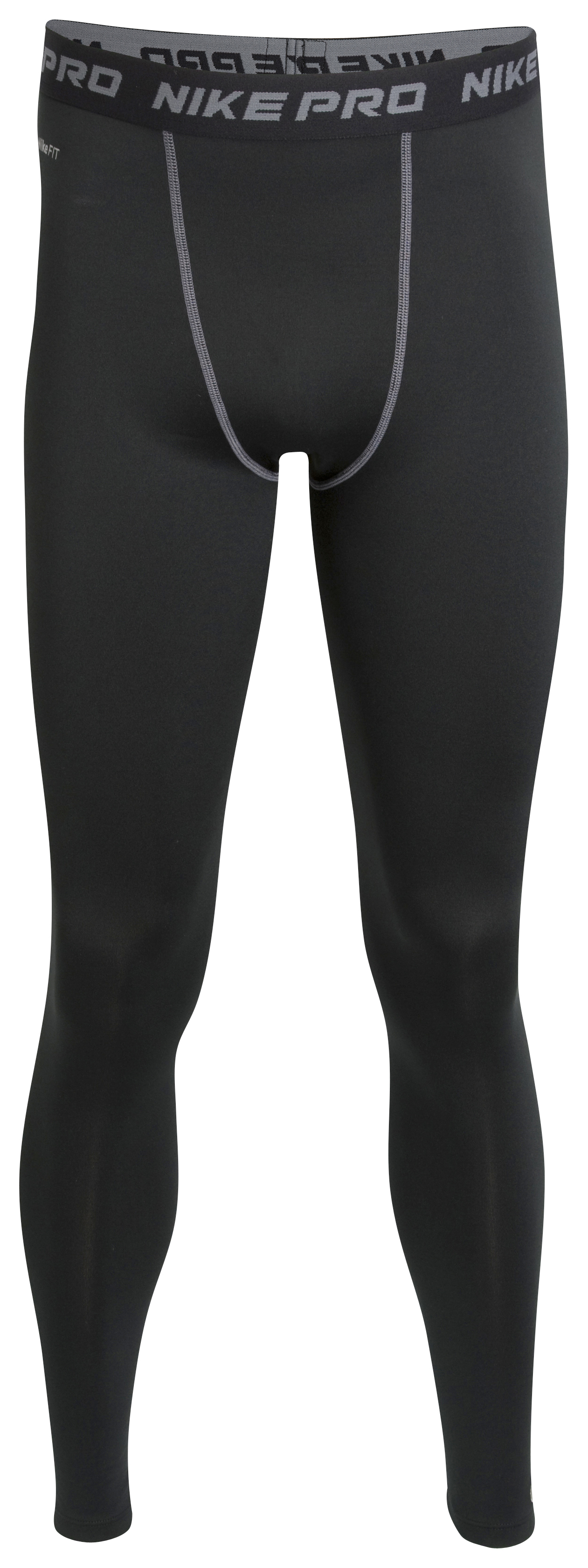 Nike Pro Core Cold Weather Baselayer Tights - Black/Grey