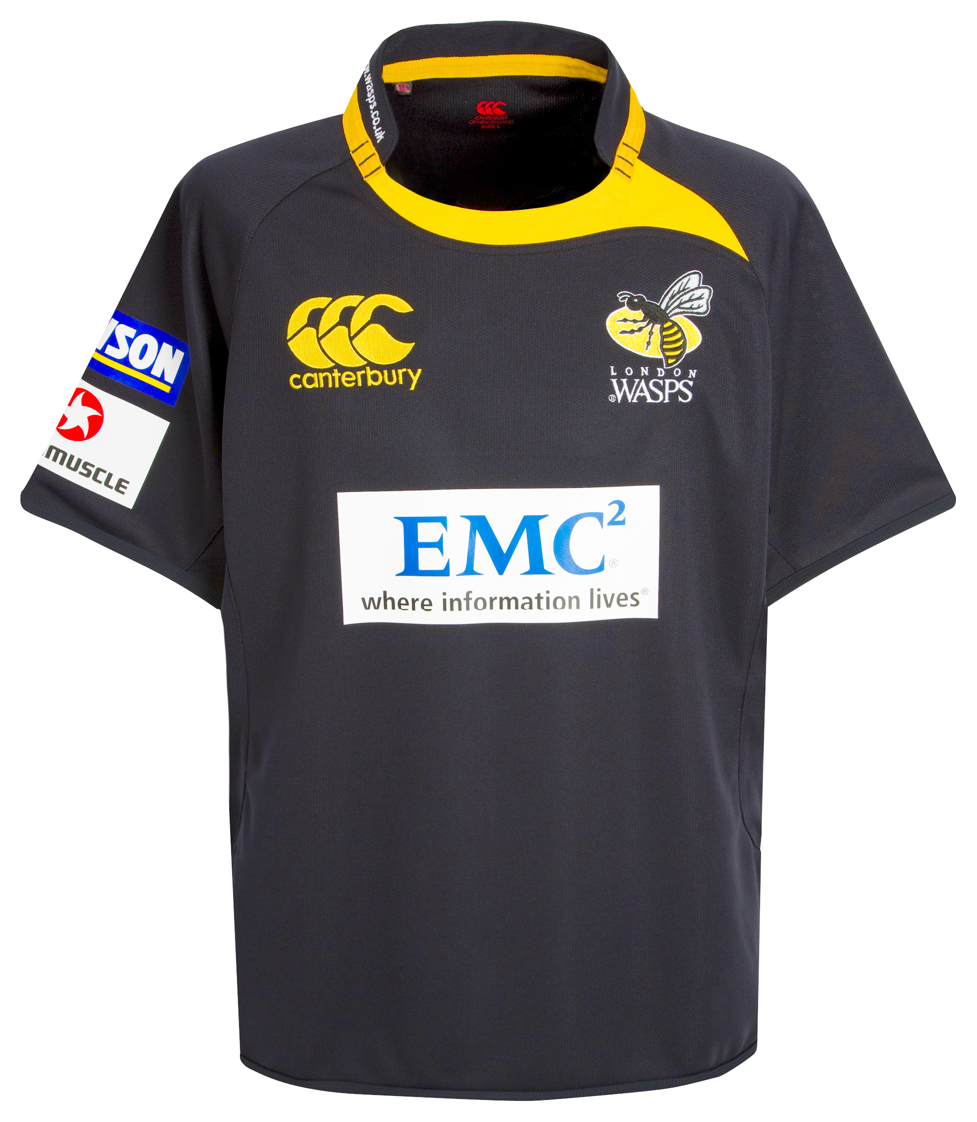 Wasps Home Pro Rugby Shirt