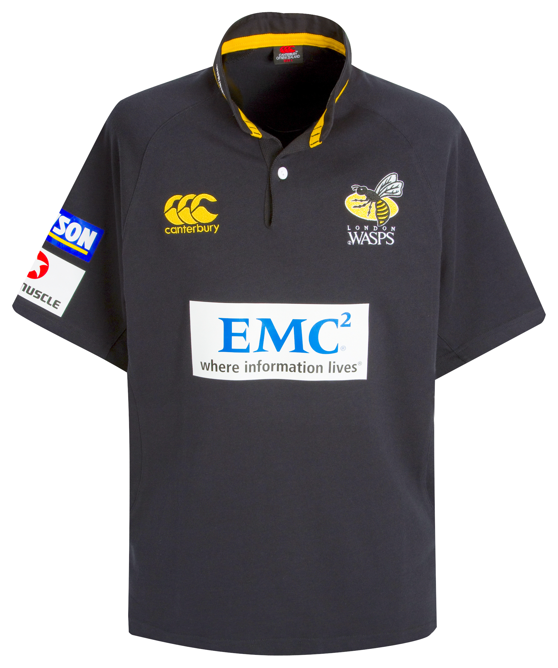 Wasps Rugby Home Classic Shirt