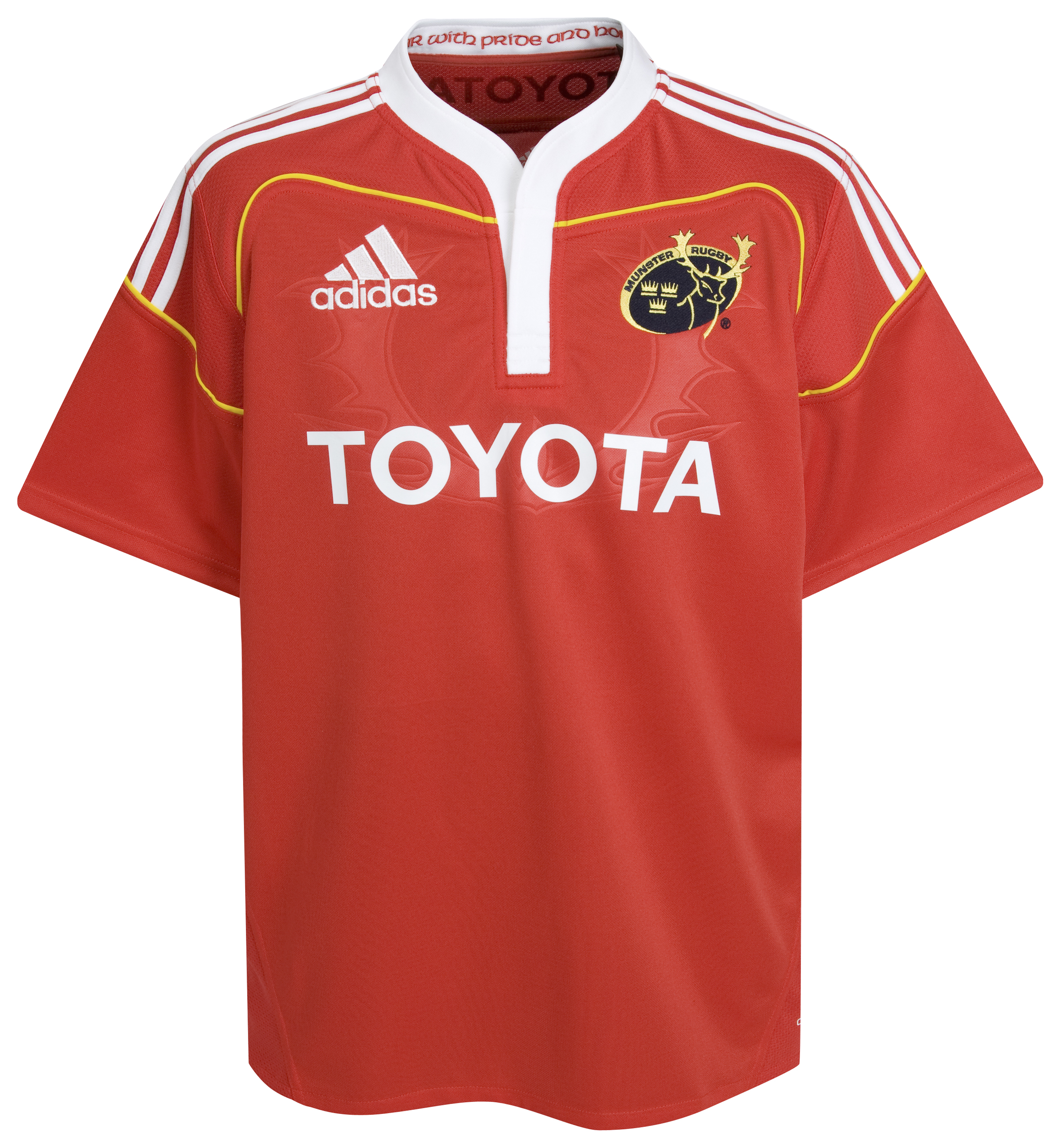 Munster Home Rugby Shirt 2009/11 - Collegiate Red - Kids. for 8€