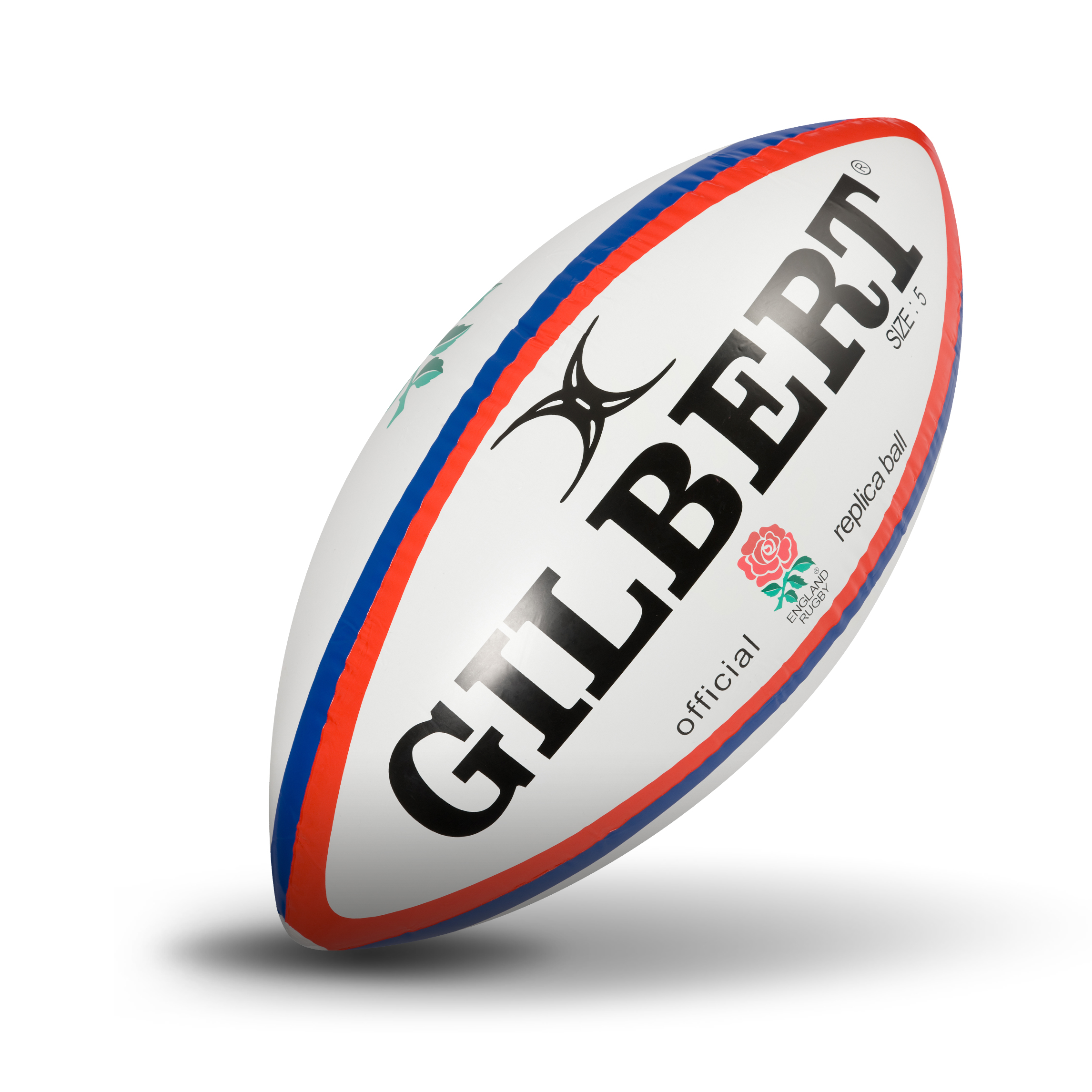 Gilbert England Inflatable Rugby Ball - 120cm