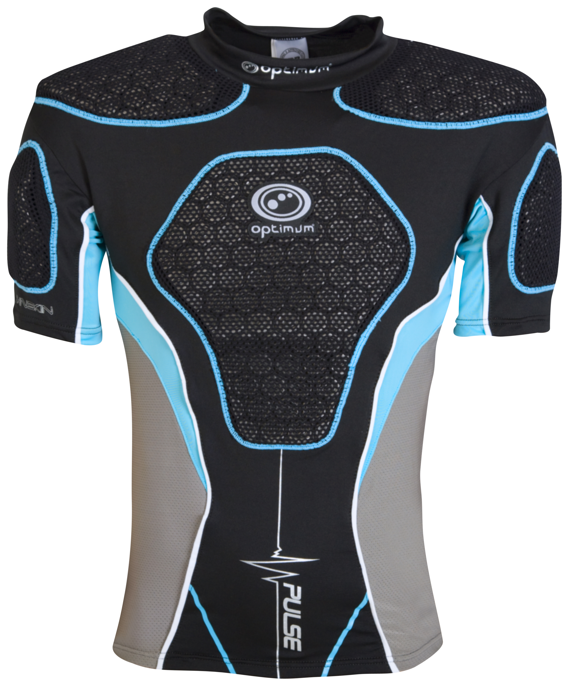 Optimum Pulse Protection Top - Black/Blue