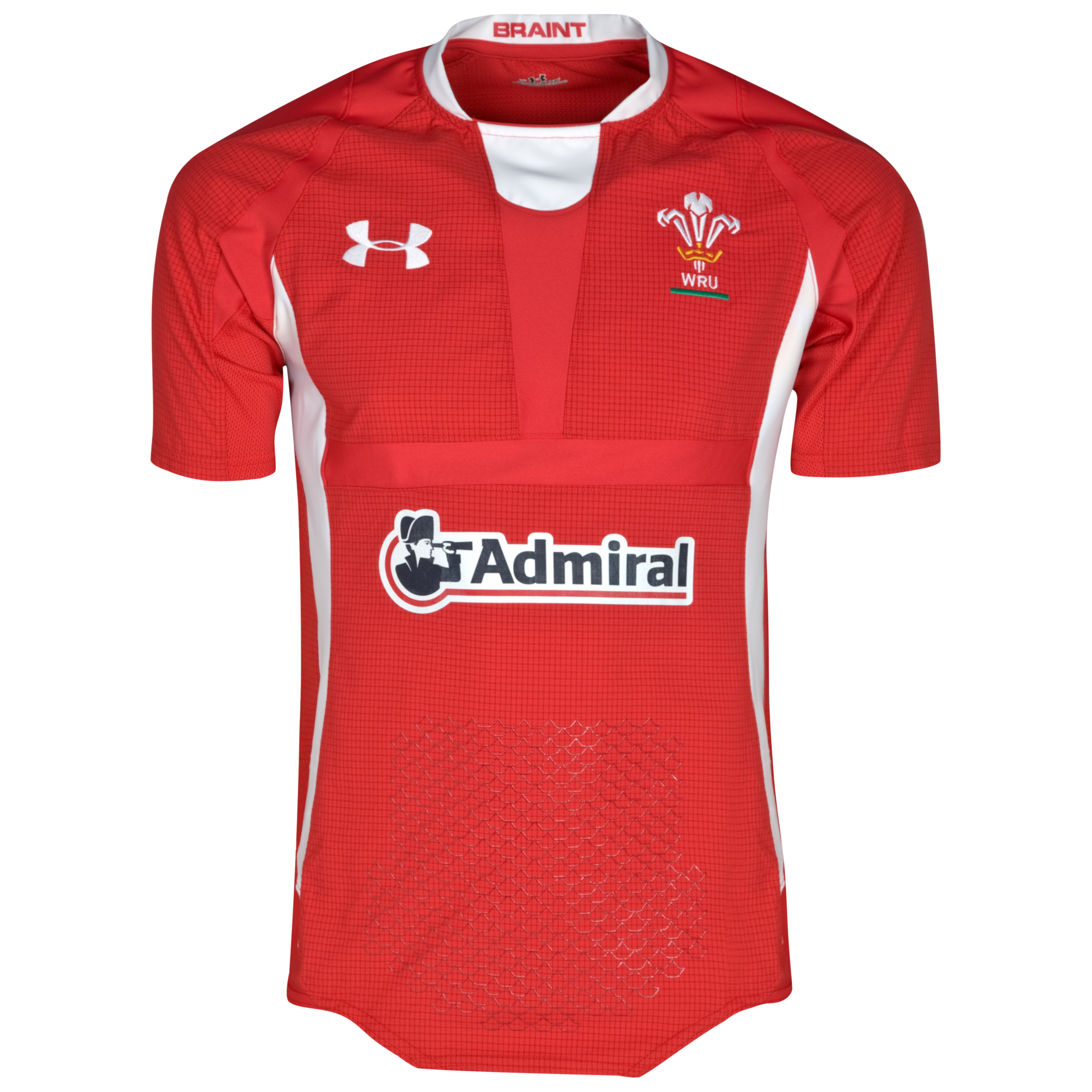 Wales Rugby Union Authentic Home Shirt 2011/13