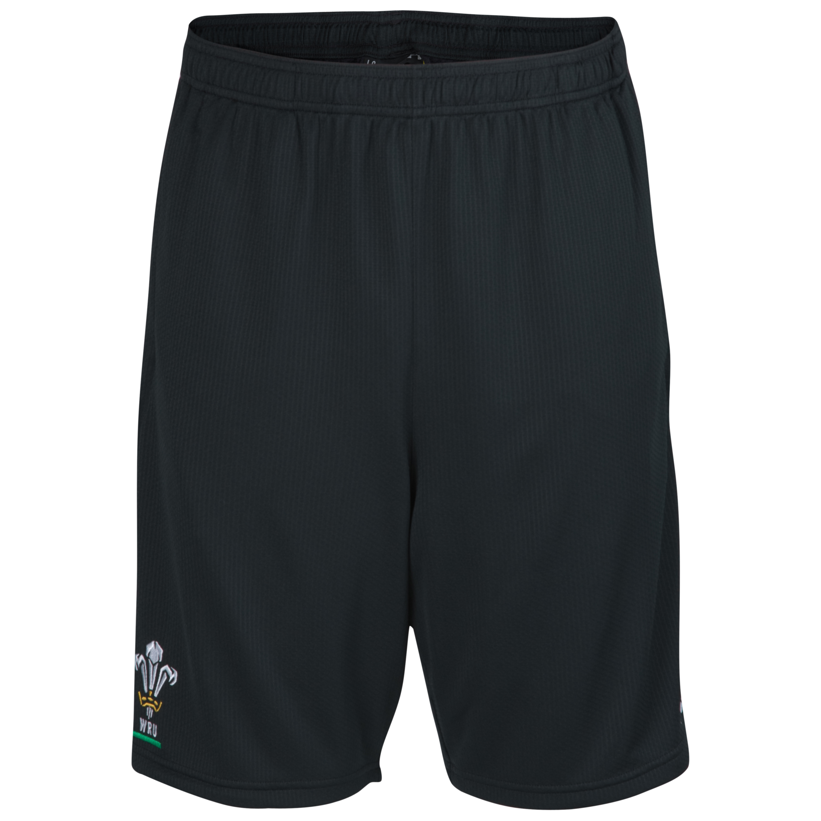 Wales Rugby Union 10k Force Short - Black/Red