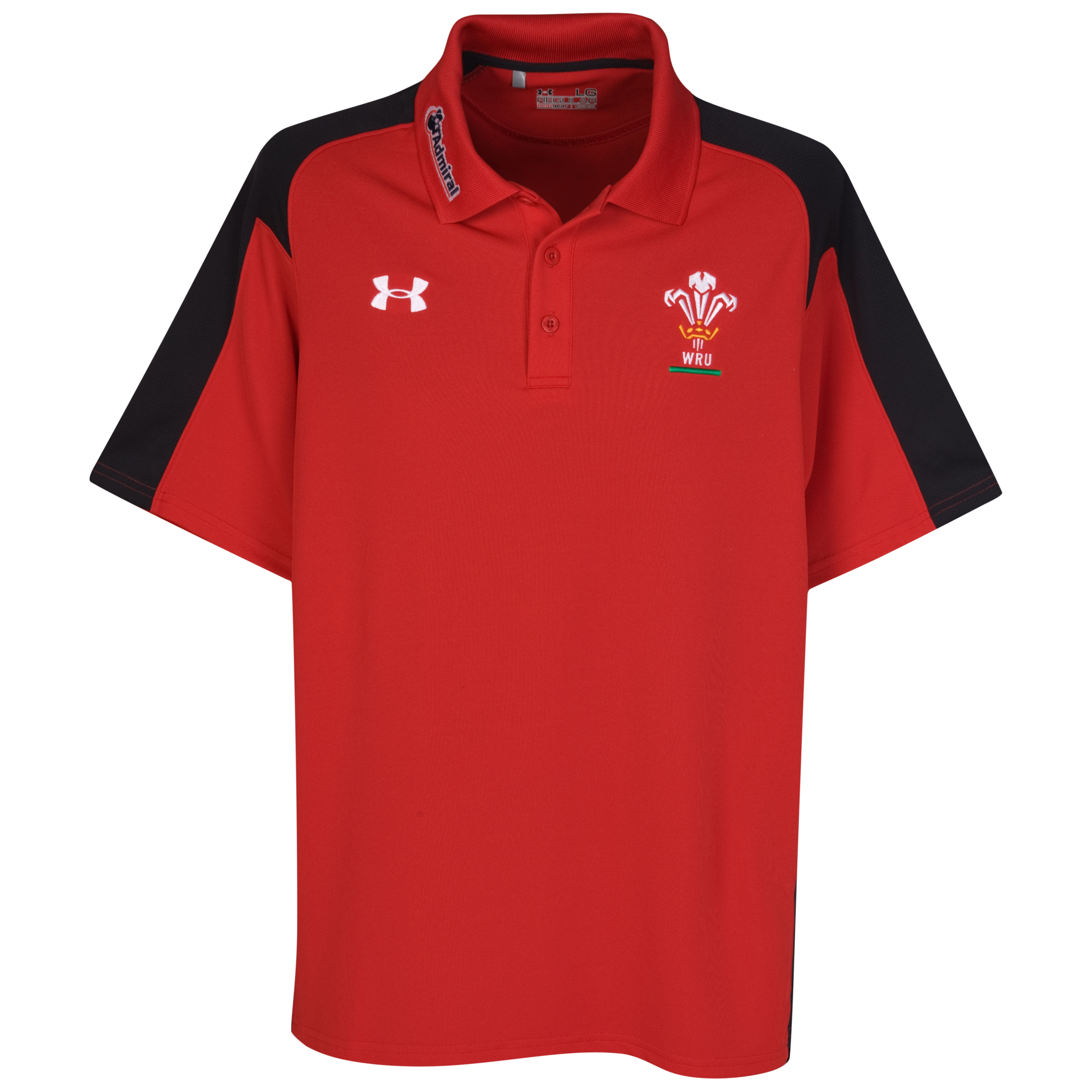 Wales Rugby Union Calcutta Polo - Red/Black. for 15€