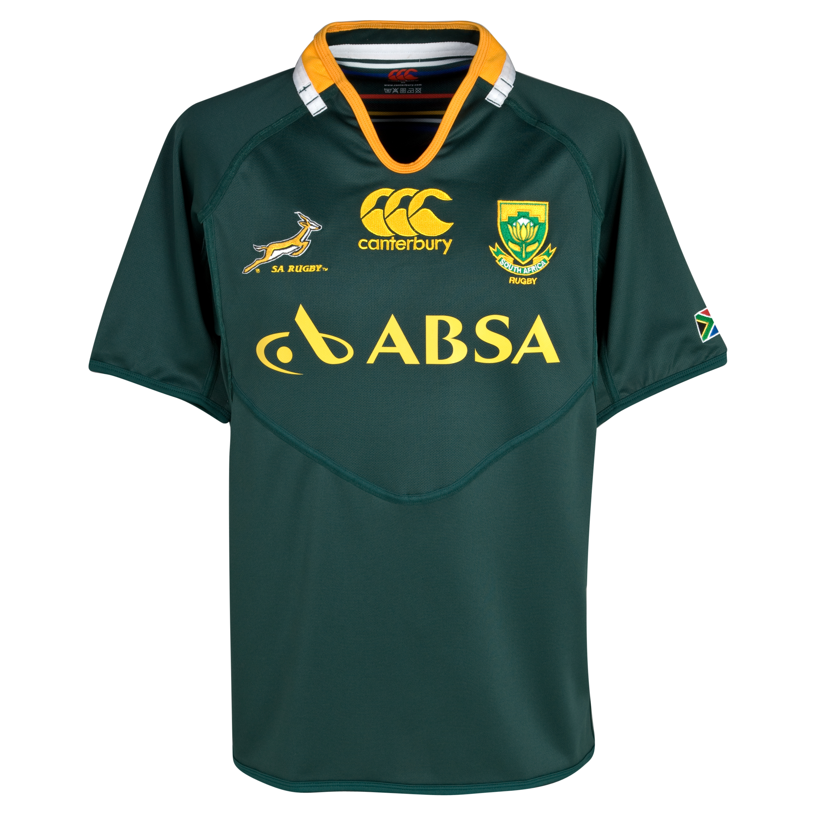 South Africa Springboks Home Pro Shirt 2011/13