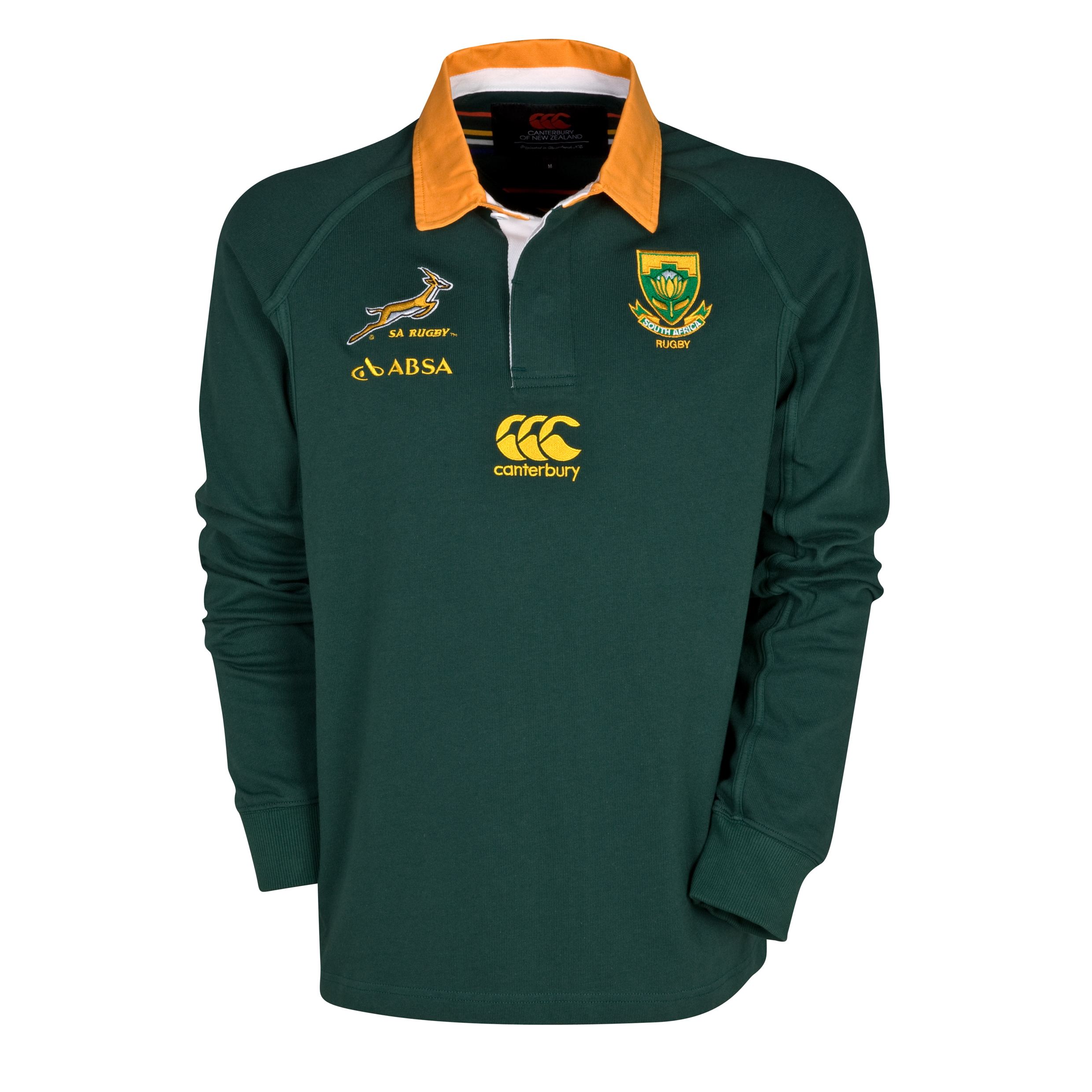 Springboks Home Classic Shirt 2011/13 - Long Sleeved
