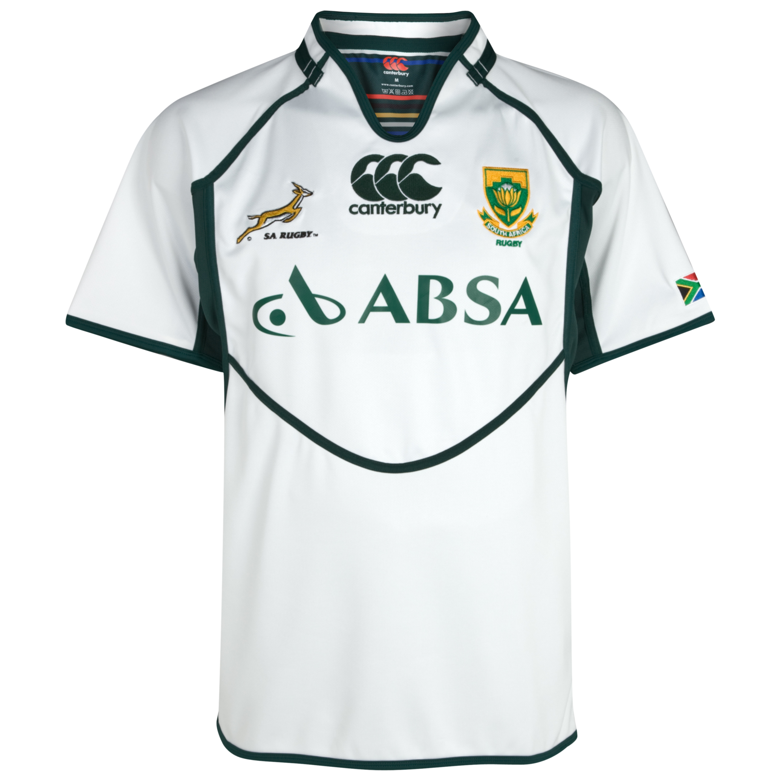 South Africa Springboks Alternate Pro Shirt 2011/13
