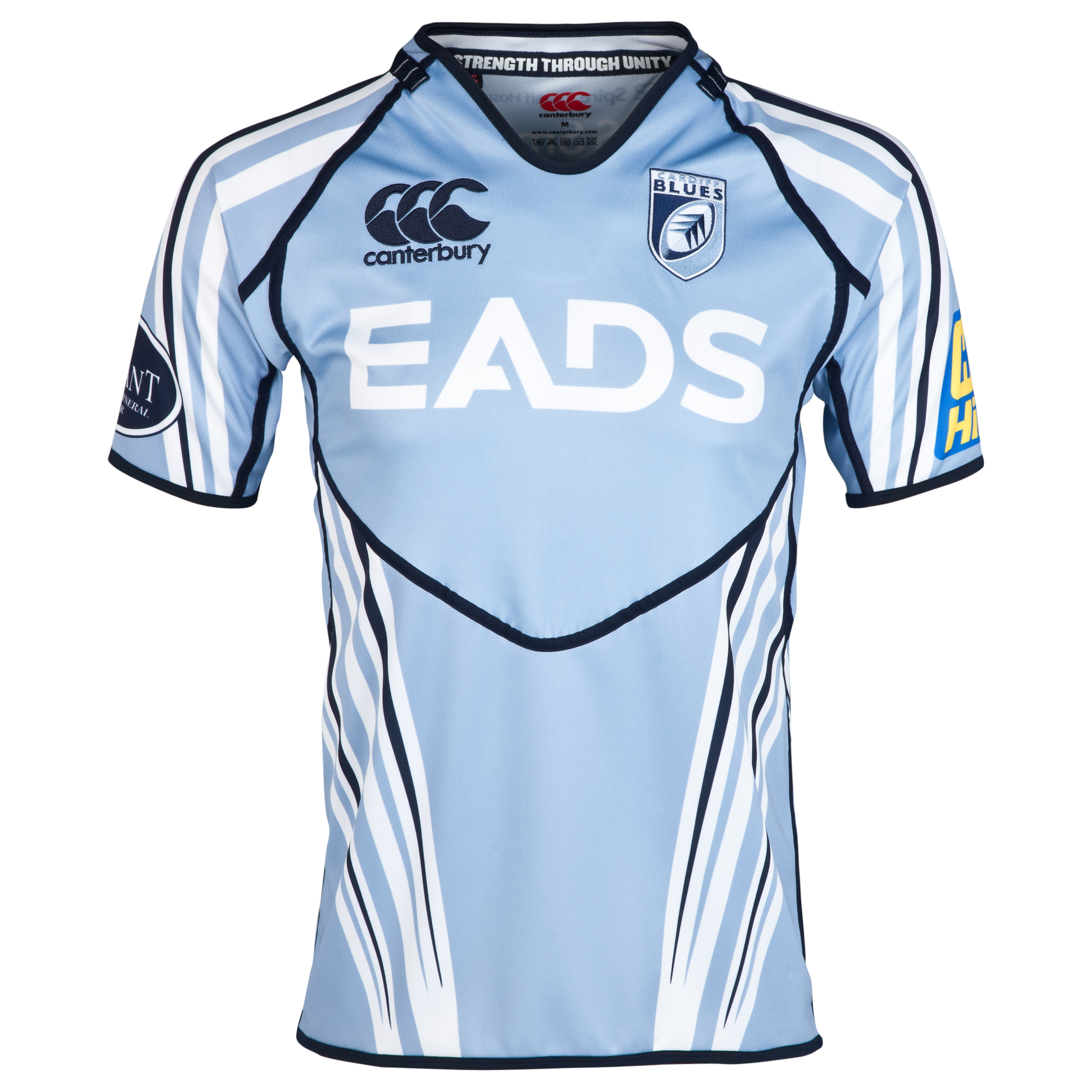 Cardiff Blues Home Pro Shirt 2011/13