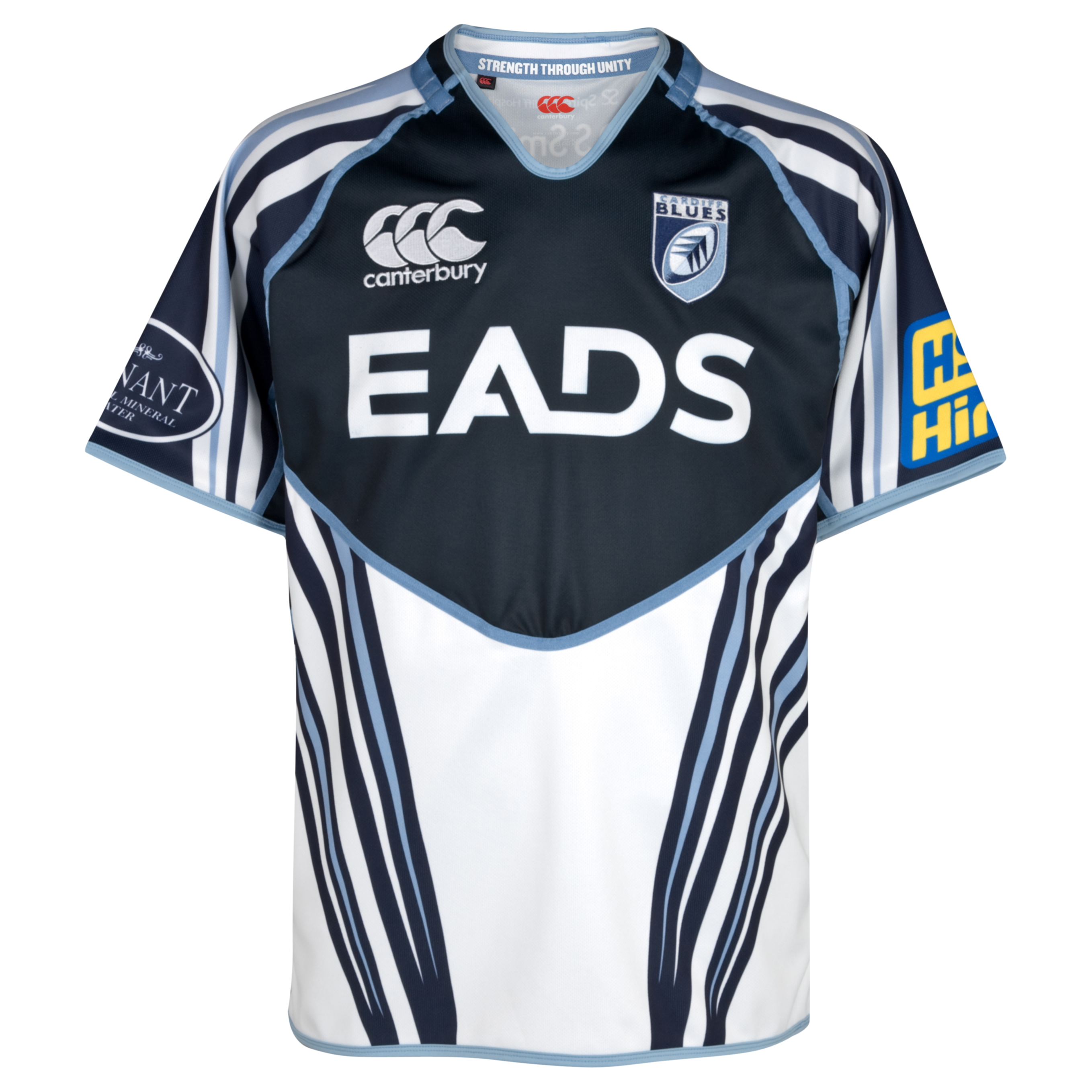 Cardiff Blues Alternate Pro Shirt 2011/13