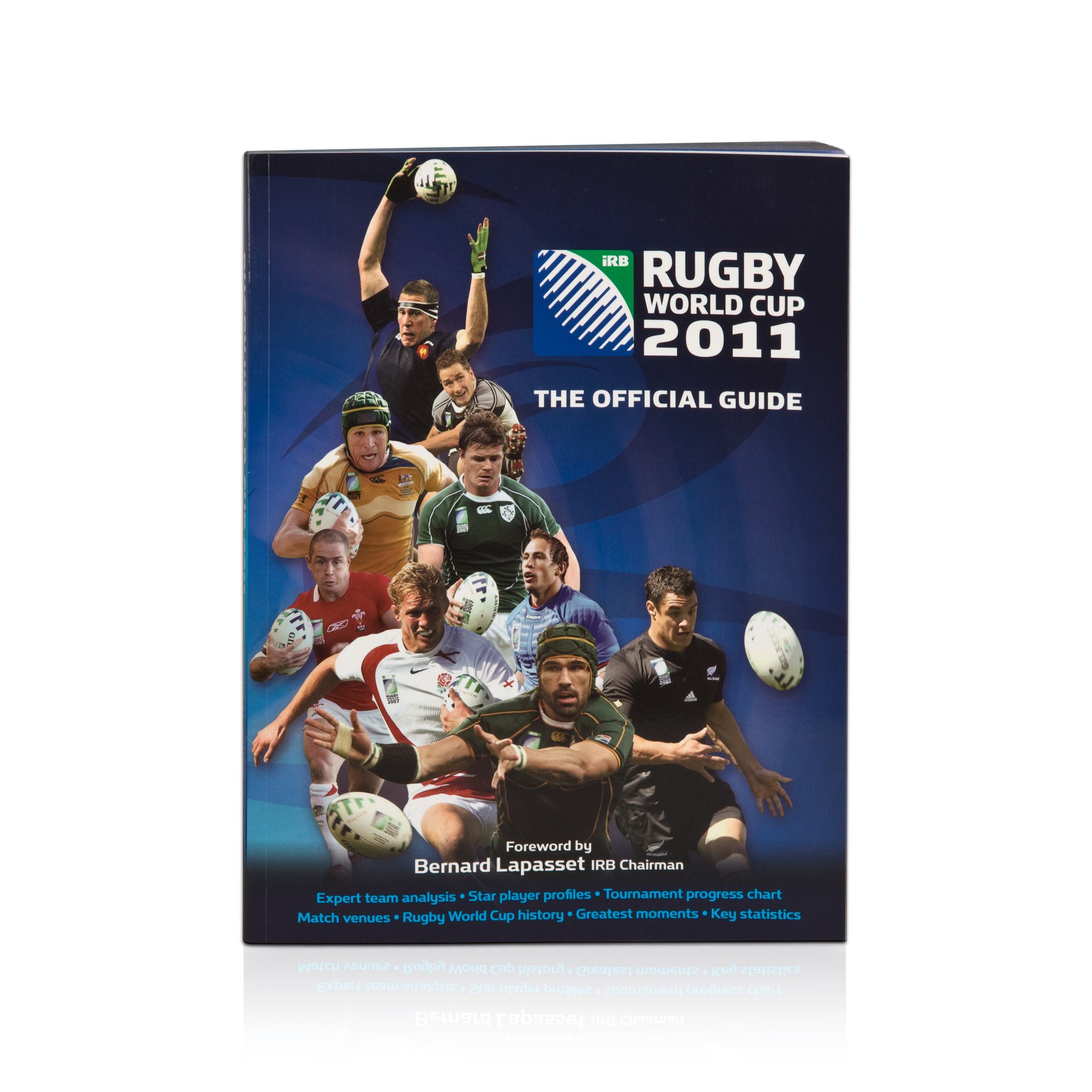 England IRB Rugby World Cup Official Guide 2011