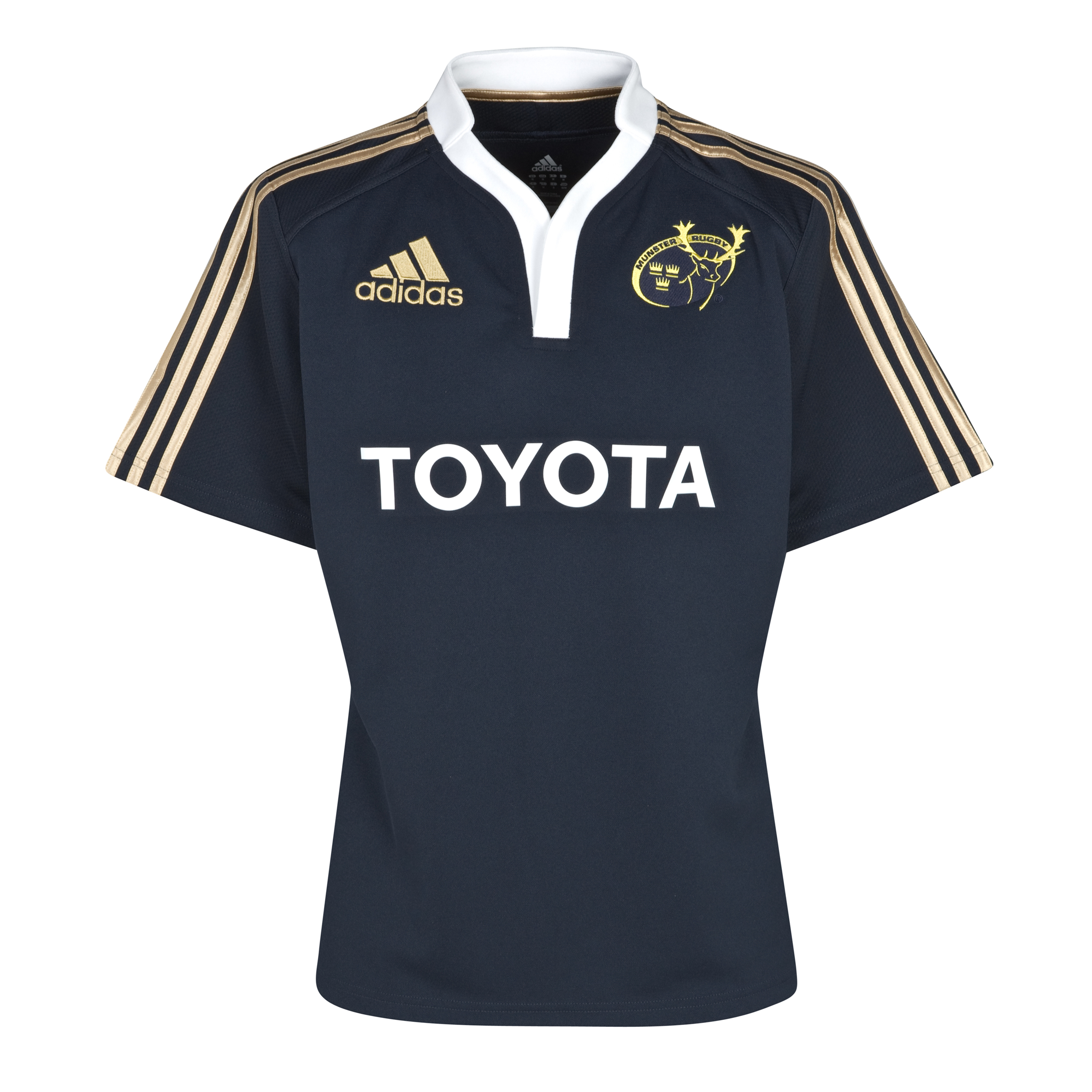 Munster Training Jersey - Dark Navy/White/Met Gold Footb 04