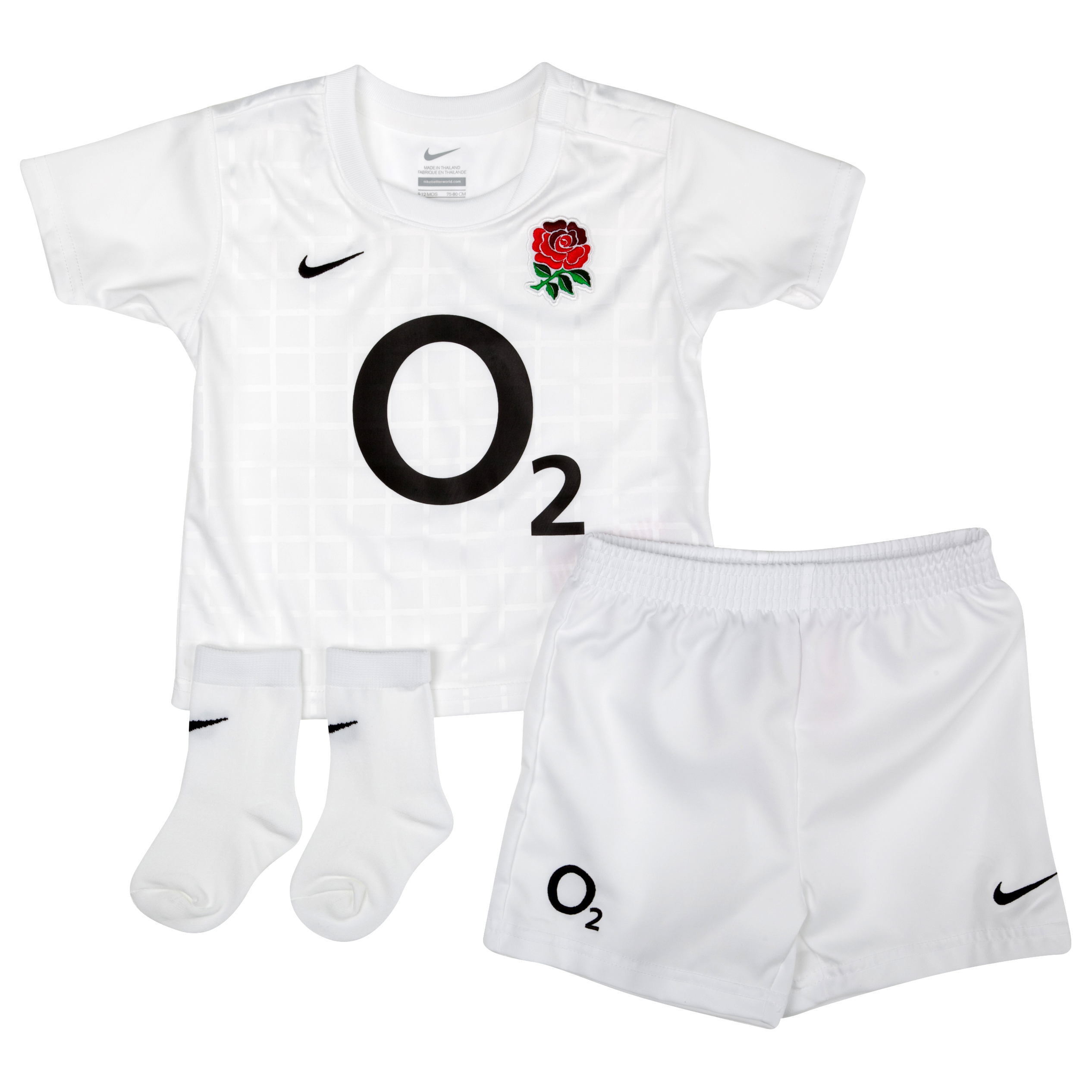 England Rugby Home Replica Kit  2011/12 - Little Kids