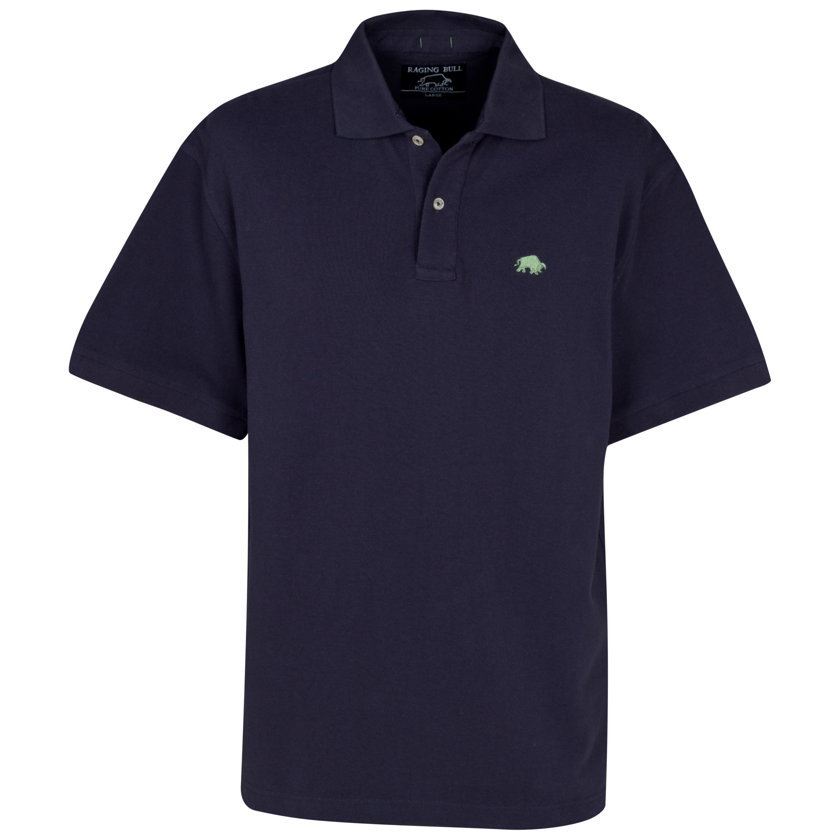Raging Bull Signature Pique Polo - Navy
