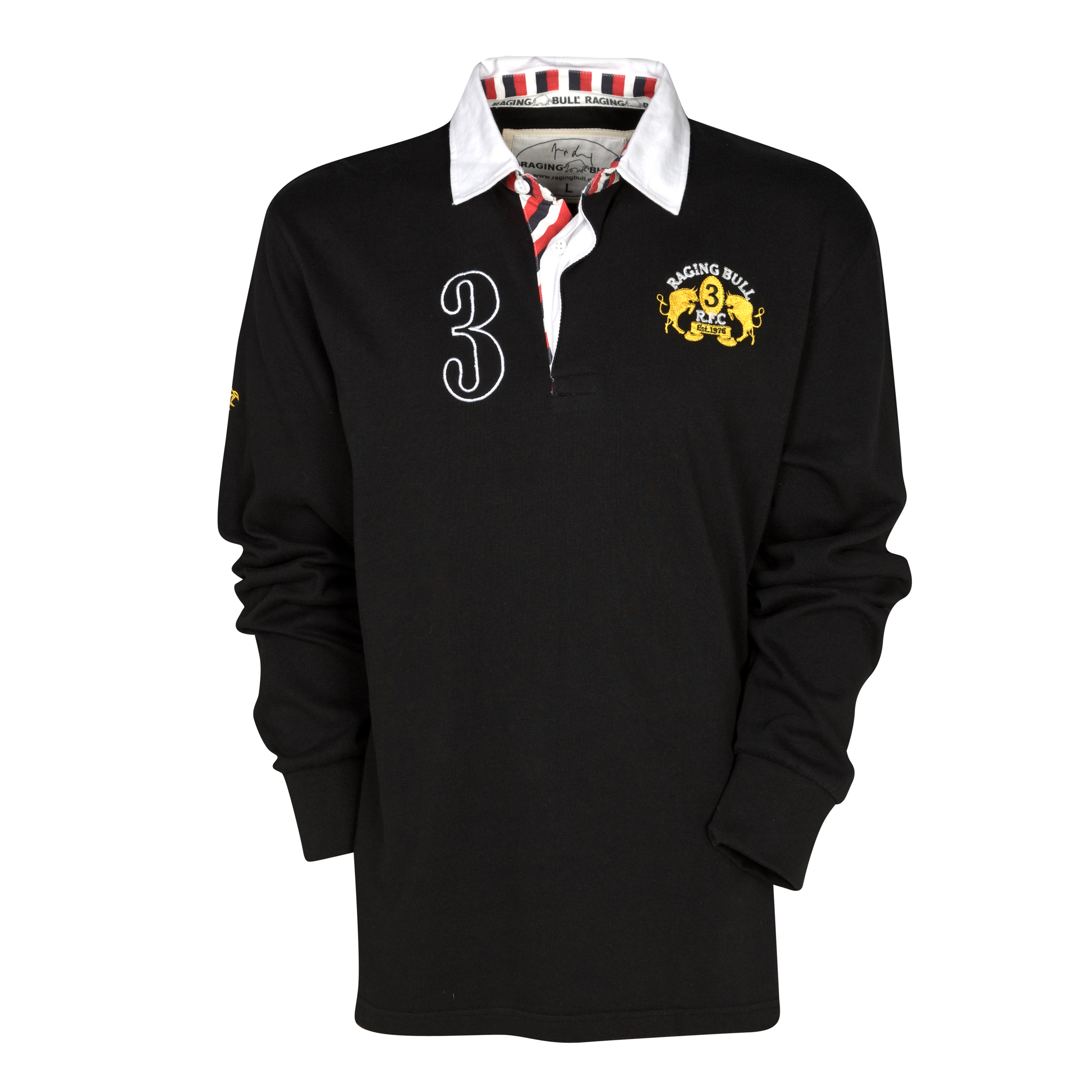 Raging Bull Signature Rugby Jersey - Black